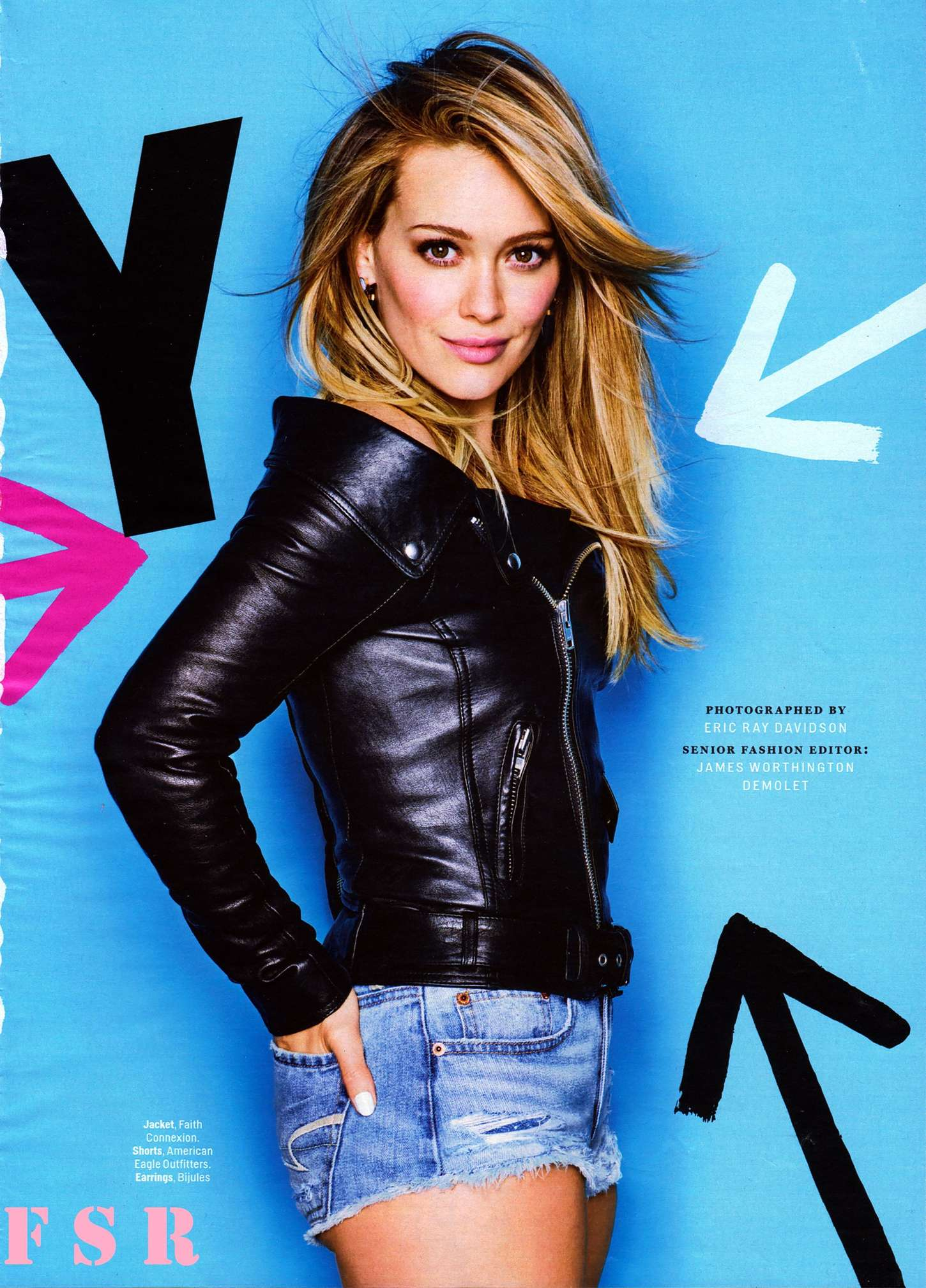 Hilary Duff Cosmopolitan Magazine April 2015