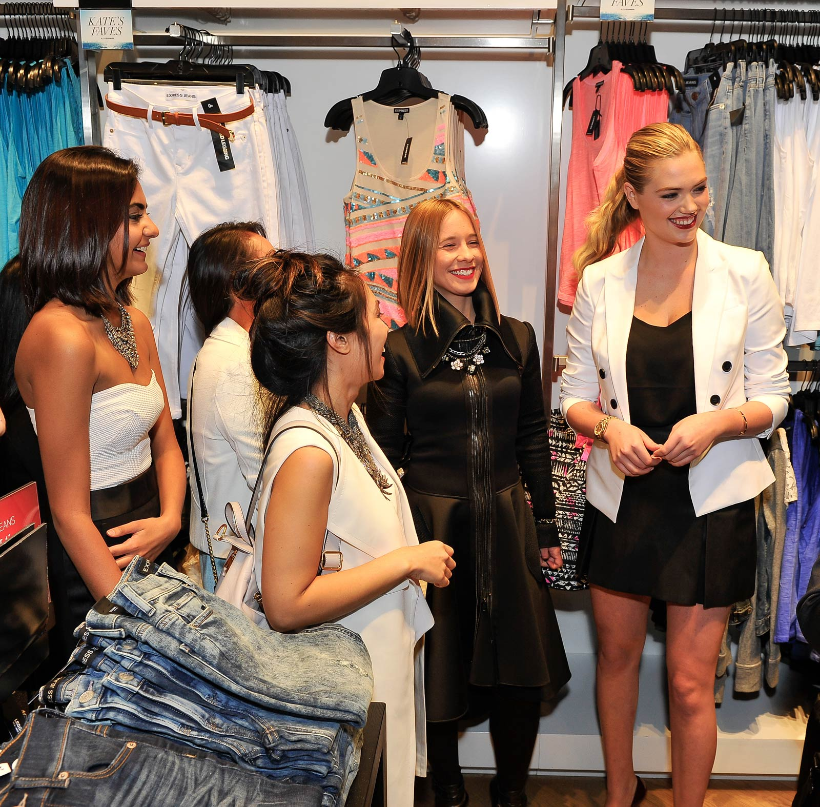 Kate Upton attends EXPRESS Spring Fling Event