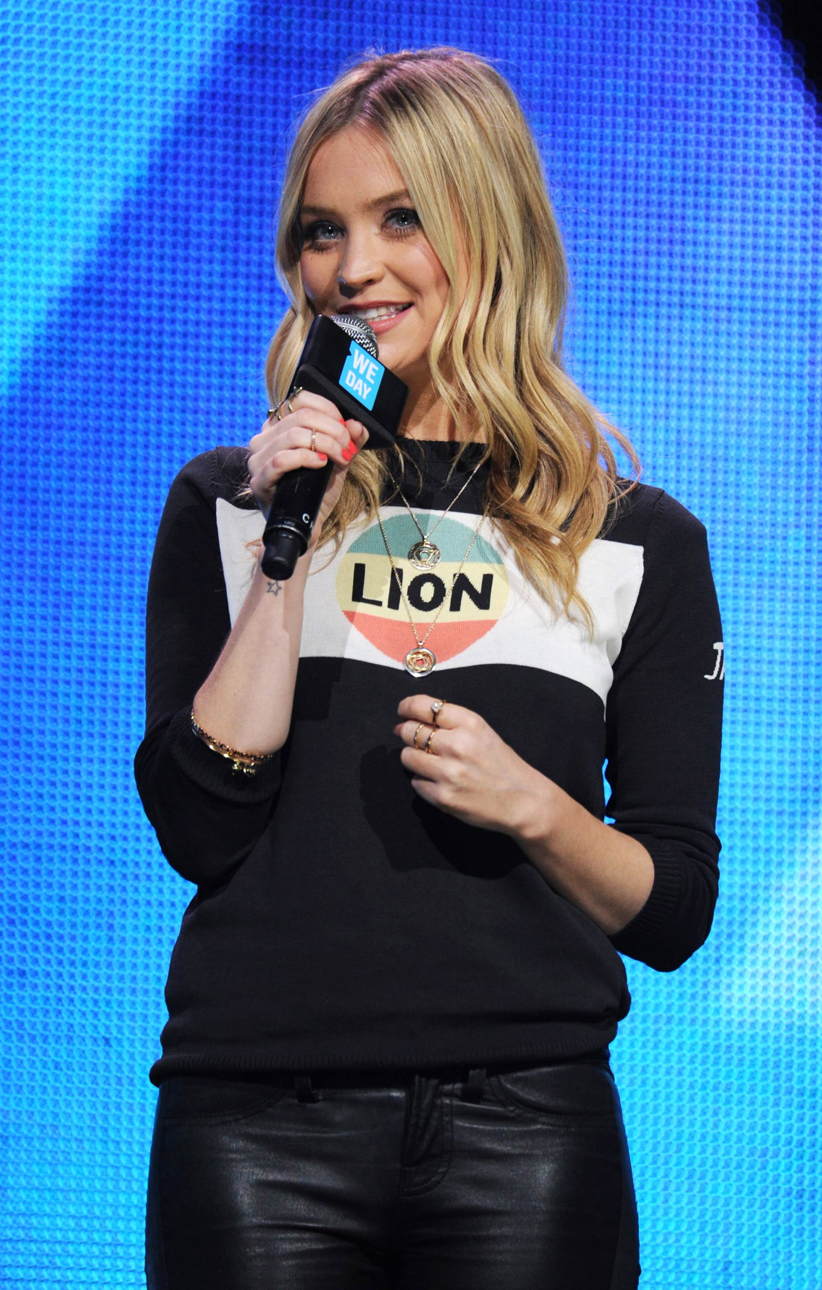 Laura Whitmore attends We Day UK 2015