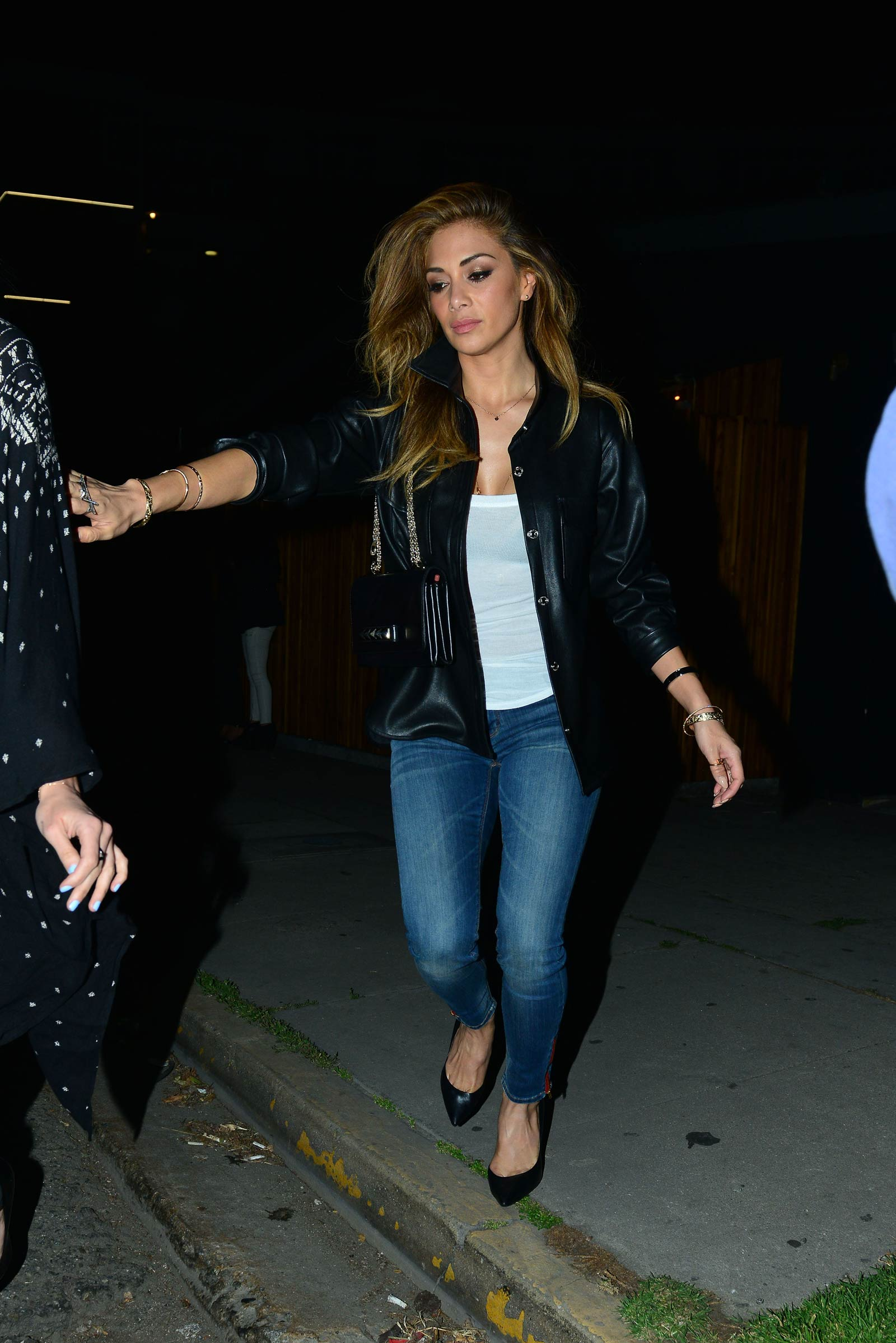 Nicole Scherzinger out and about candids in LA