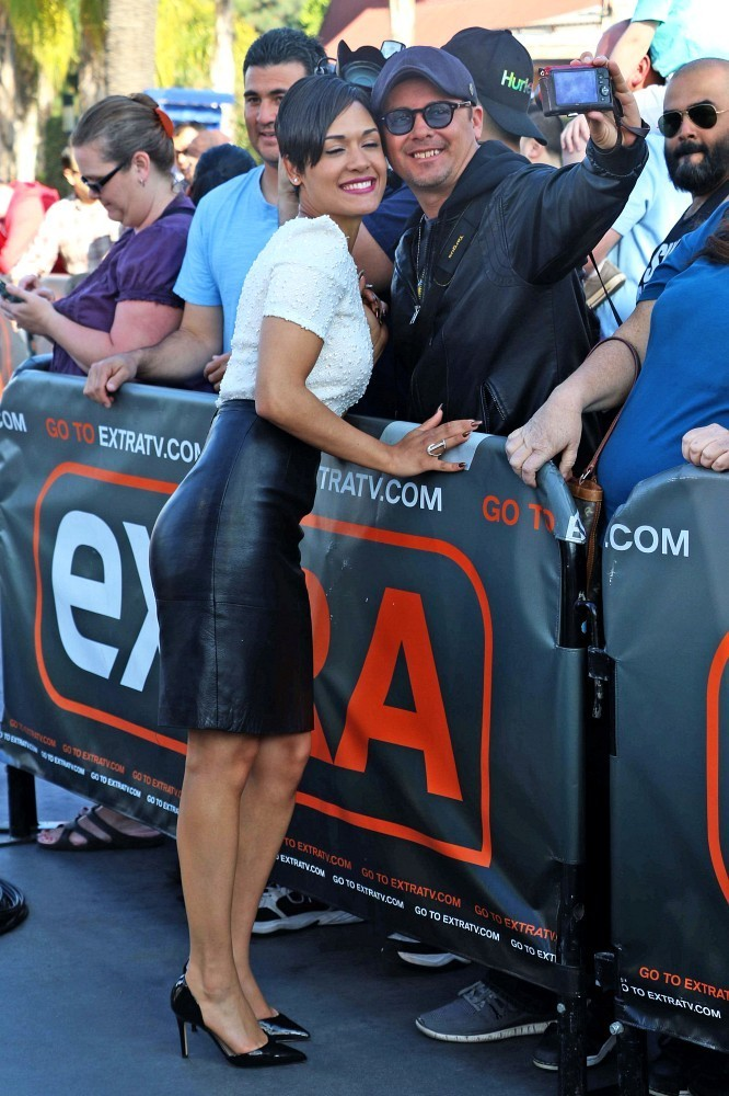 Grace Gealey is seen at Extra
