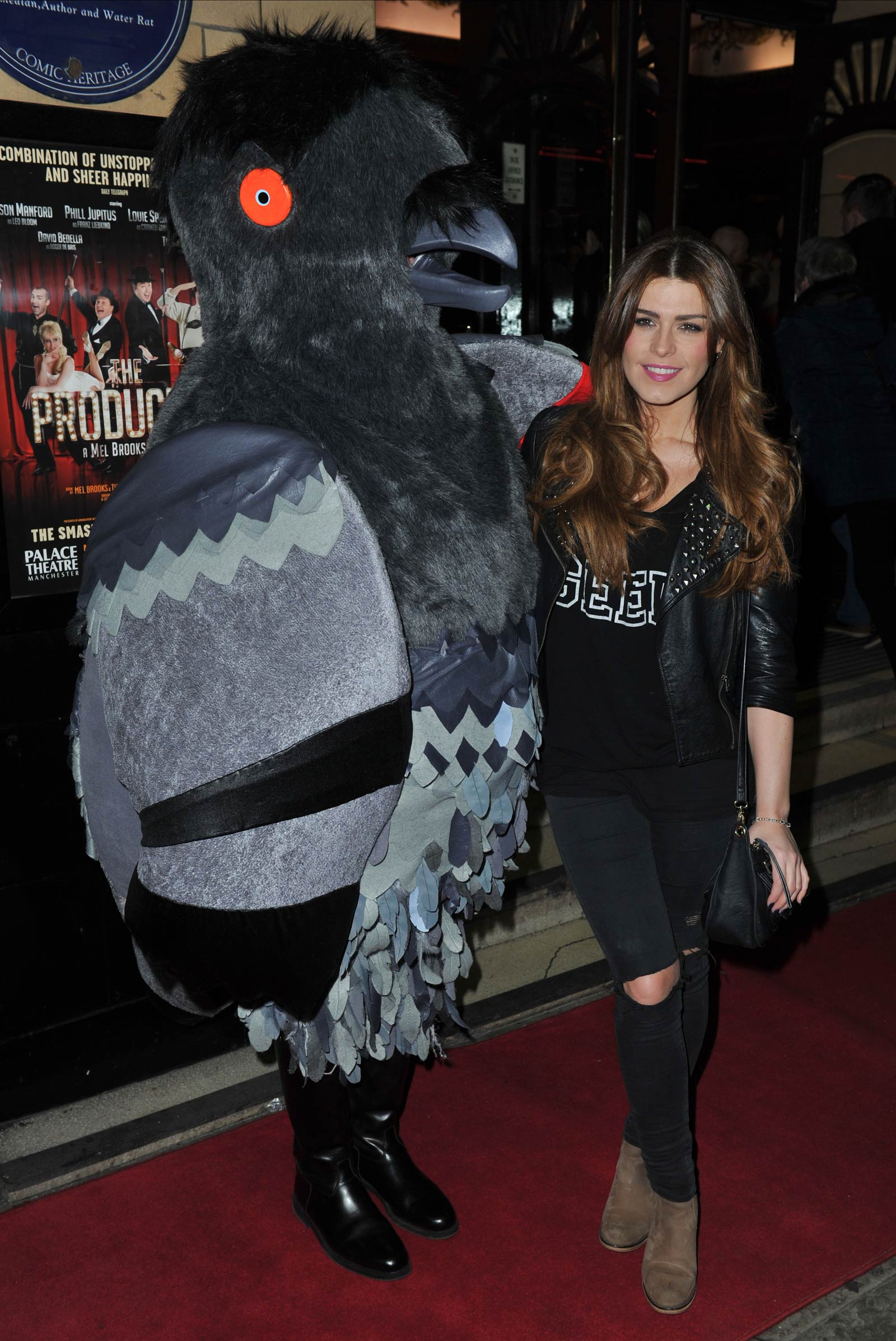 Carolynne Poole attends The Producers VIP Gala Night Manchester