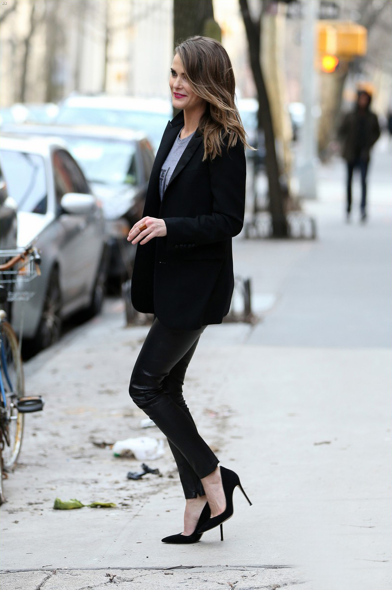 Keri Russell appearance on Late Night with Seth Meyers