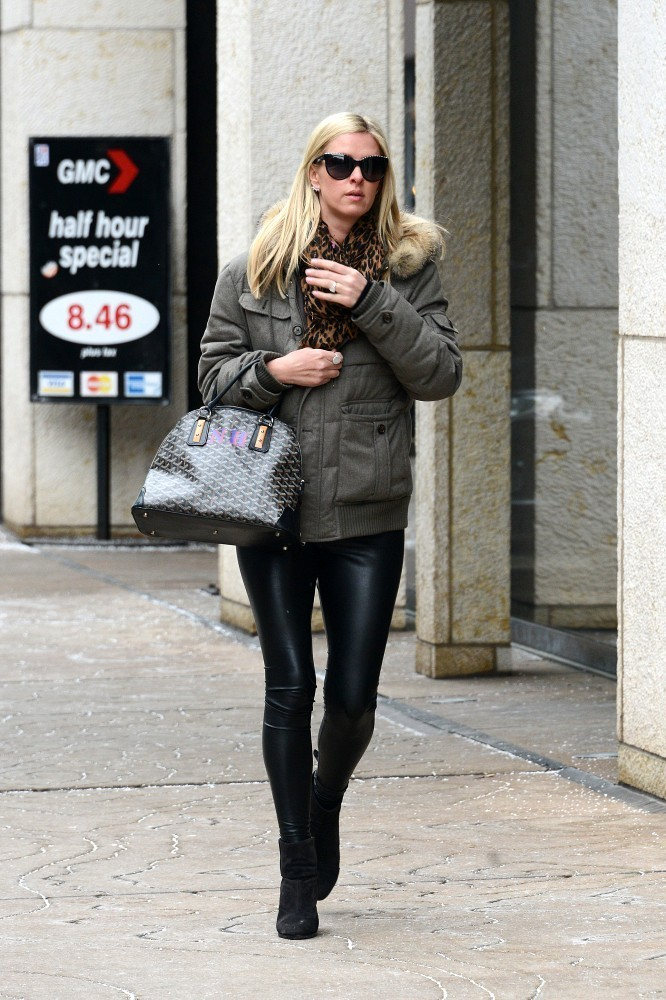 Nicky Hilton is seen in New York City
