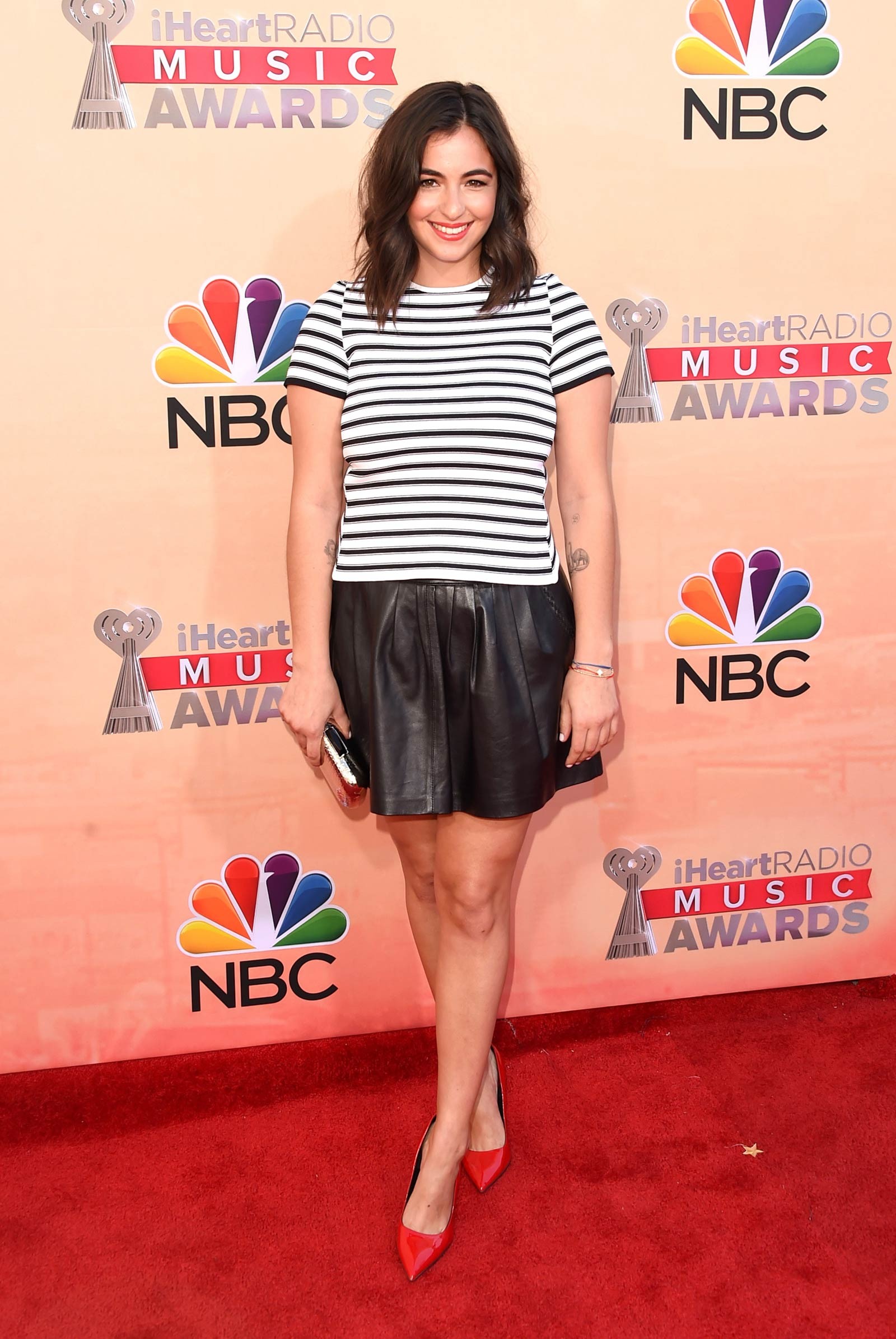 Alanna Masterson attends 2015 iHeartRadio Music Awards