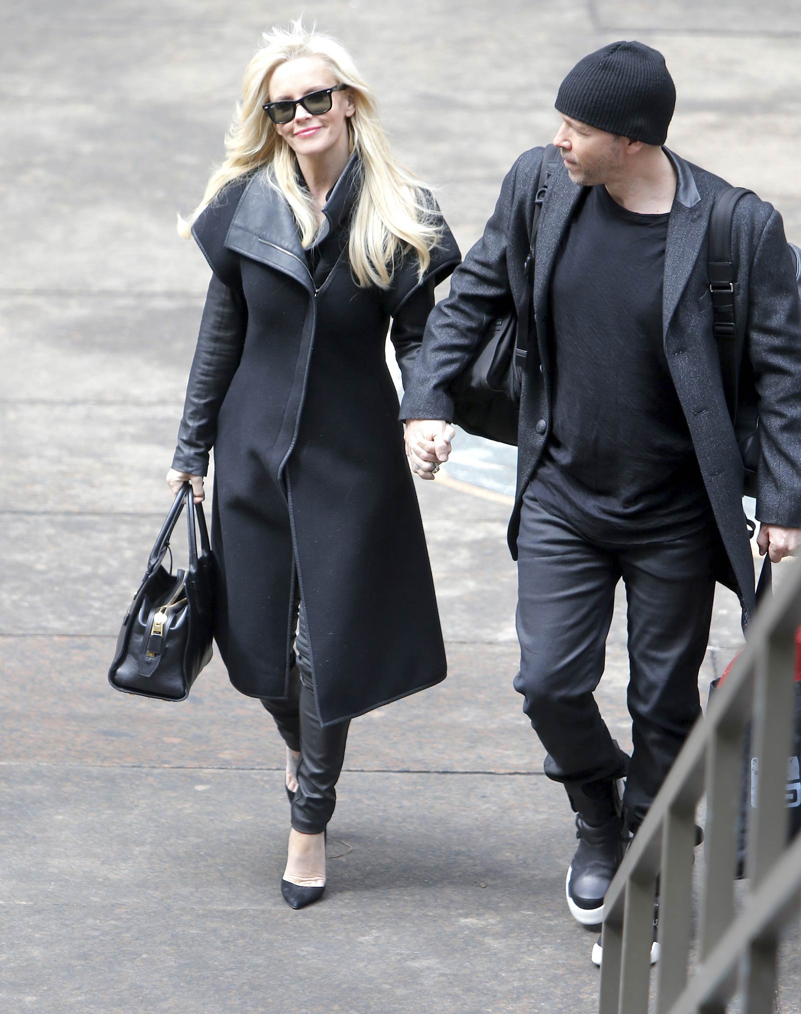 Jenny McCarthy out and about in NYC
