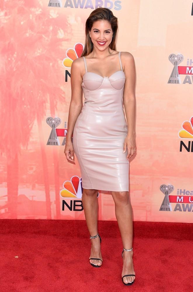 Liz Hernandez attends 2015 iHeartRadio Music Awards