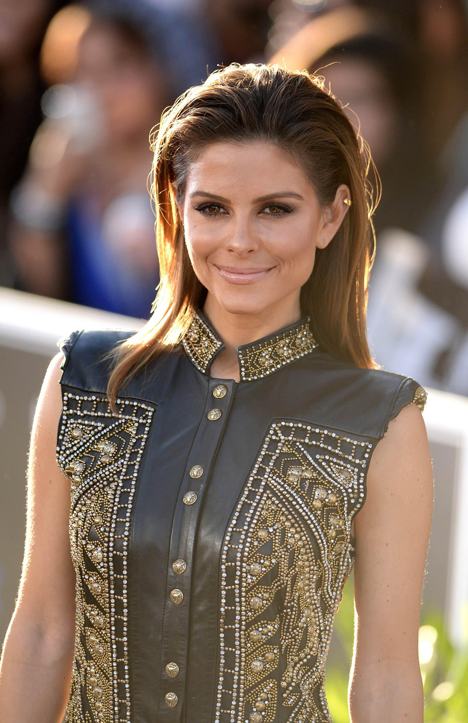 Maria Menounos attends Furious 7 World Premiere