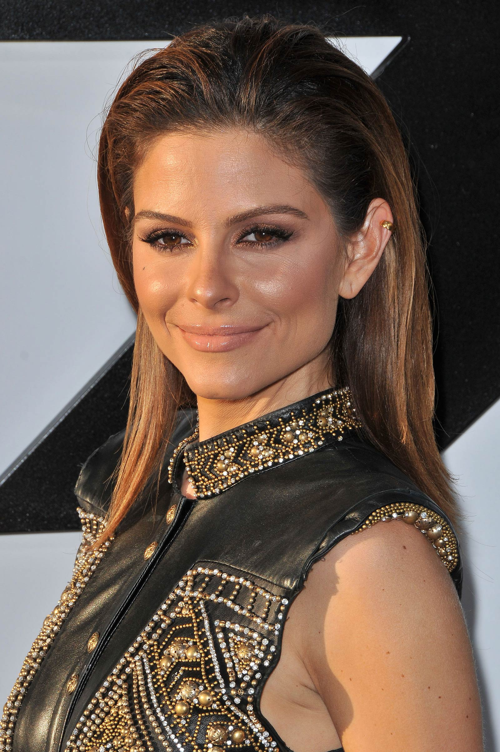 Maria Menounos attends Furious 7 World Premiere