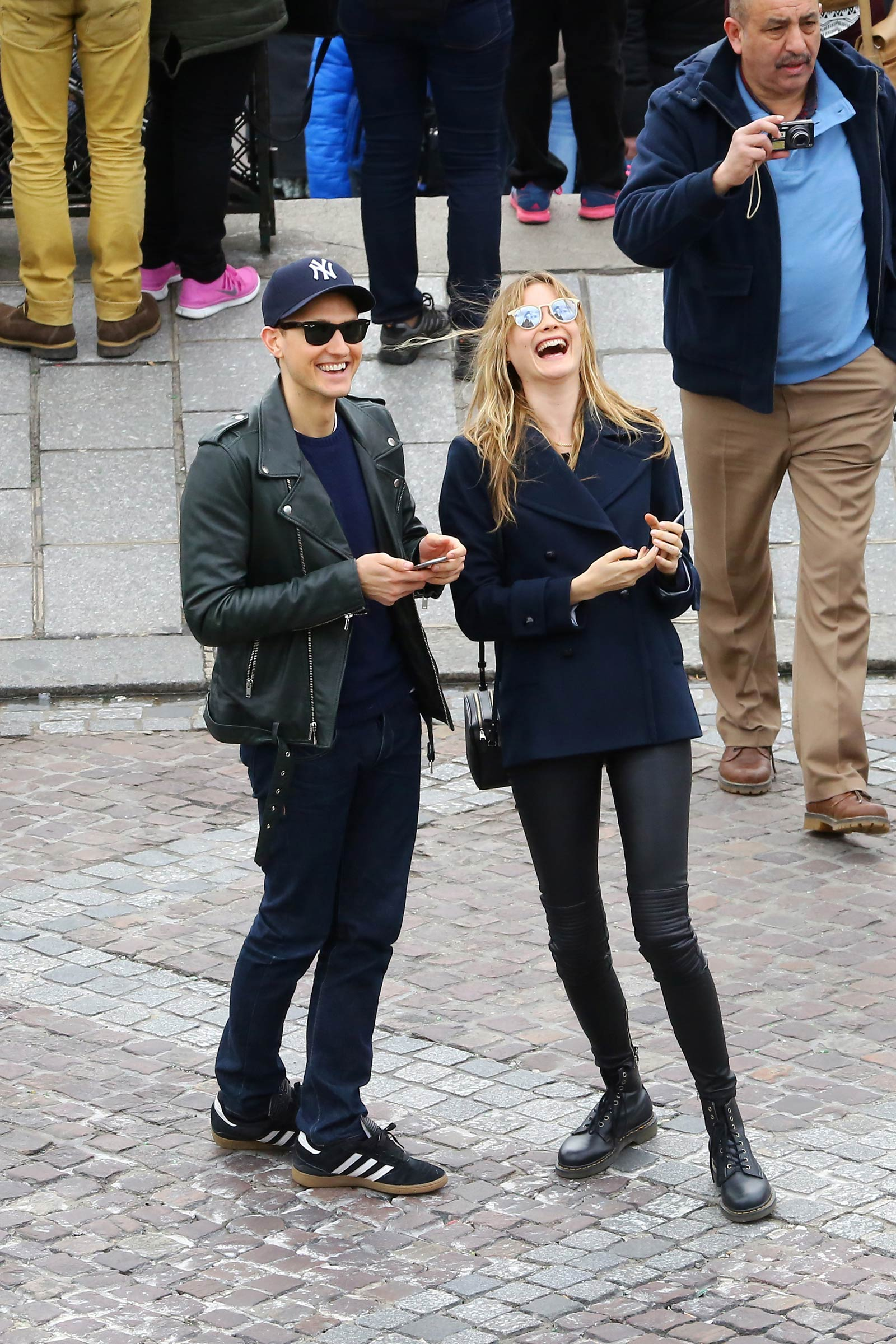 Behati Prinsloo out and about in Paris