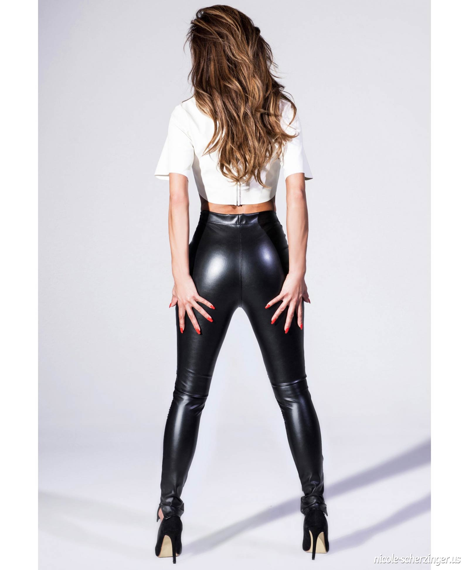 Nicole Scherzinger photoshoot for Nicole x Missguided Collection