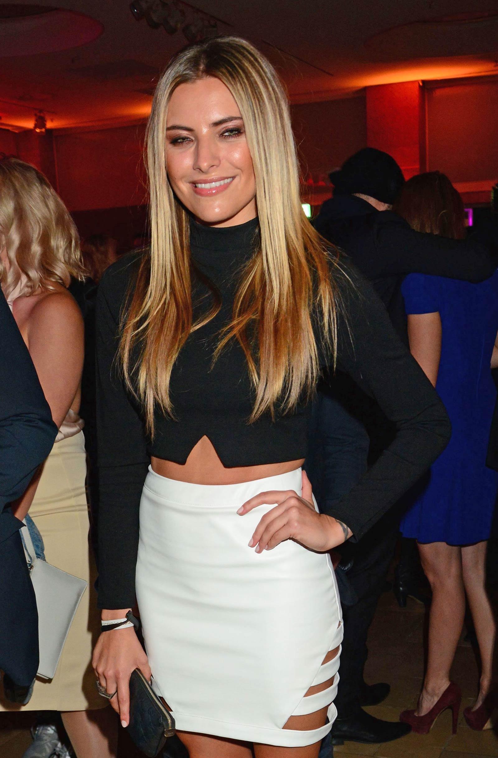 Sophia Thomalla attends the Echo awards 2015