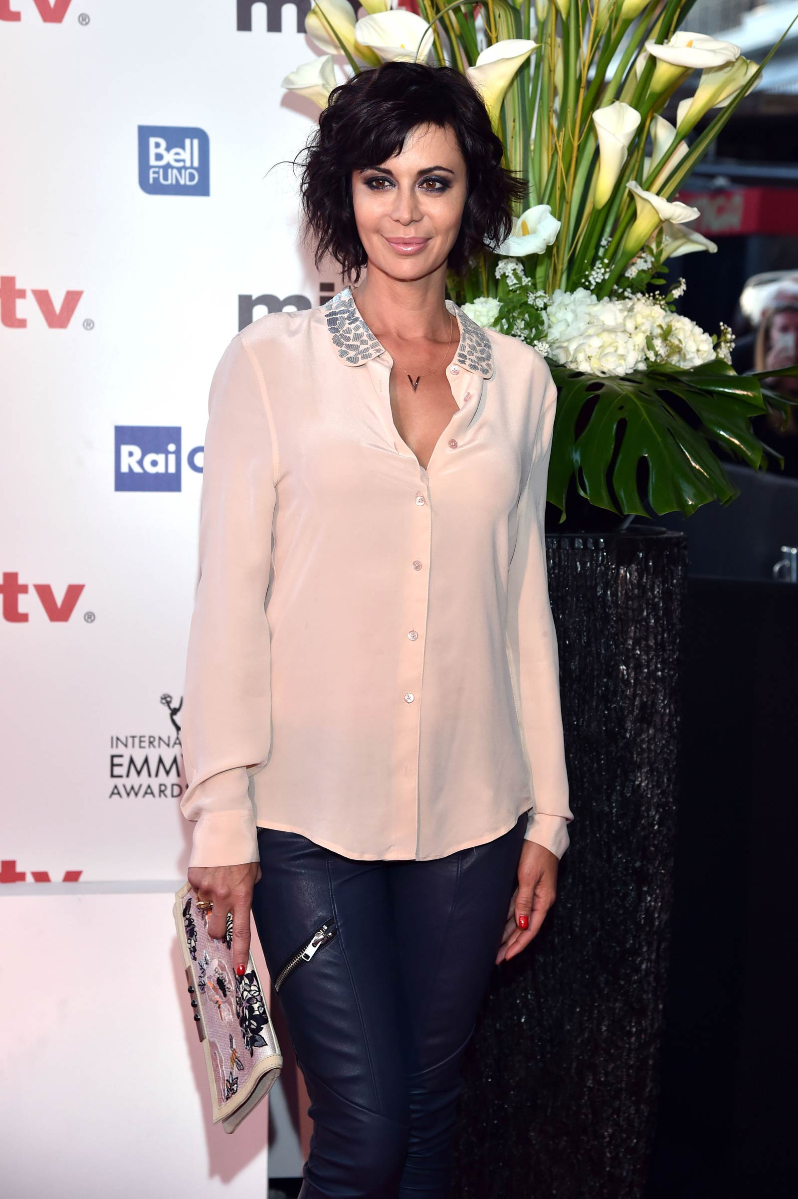 Catherine Bell attends MIPTV 2015 Opening Party