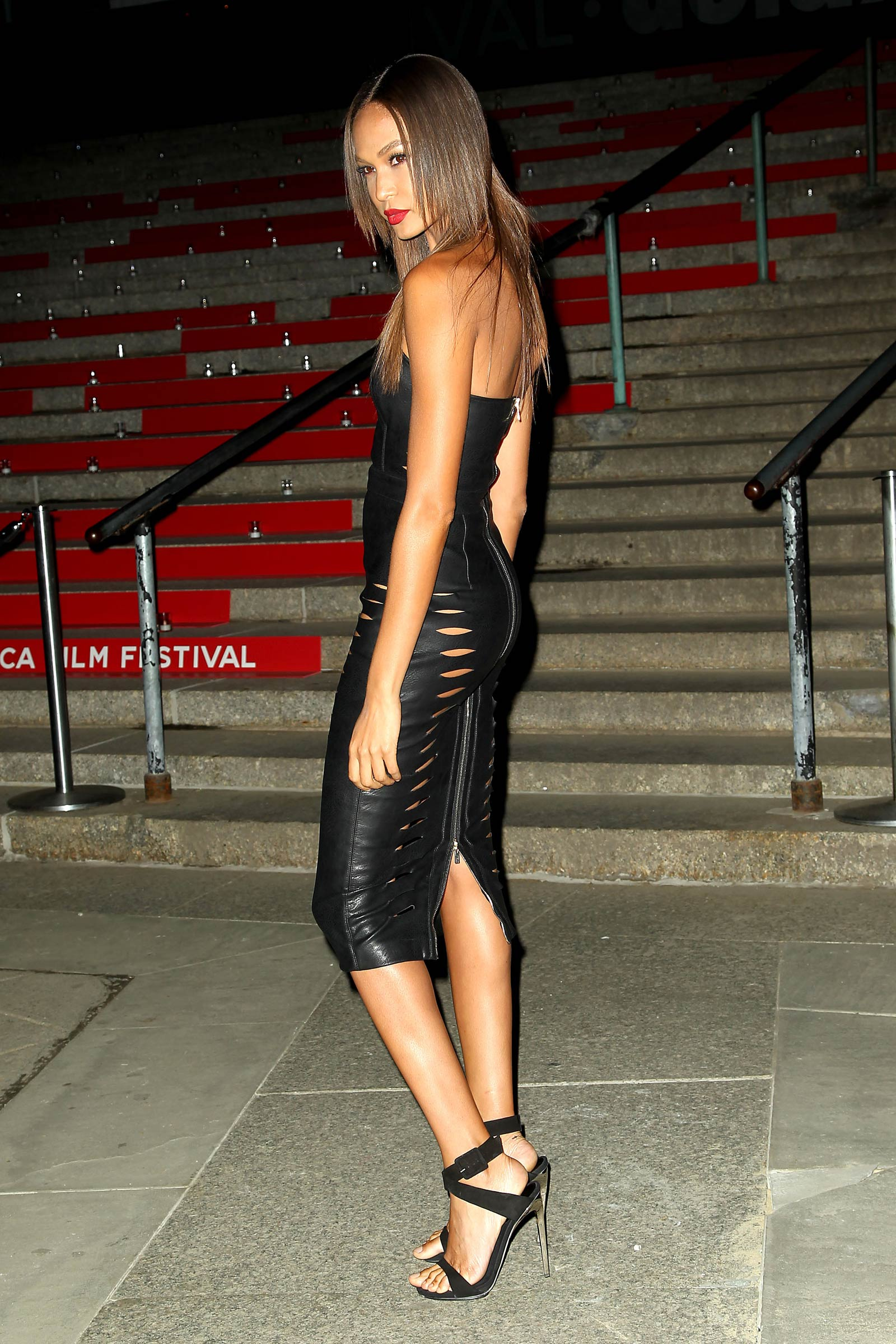 Joan Smalls attends Annual VANITY FAIR Party To Celebrate the Tribeca Film Festival