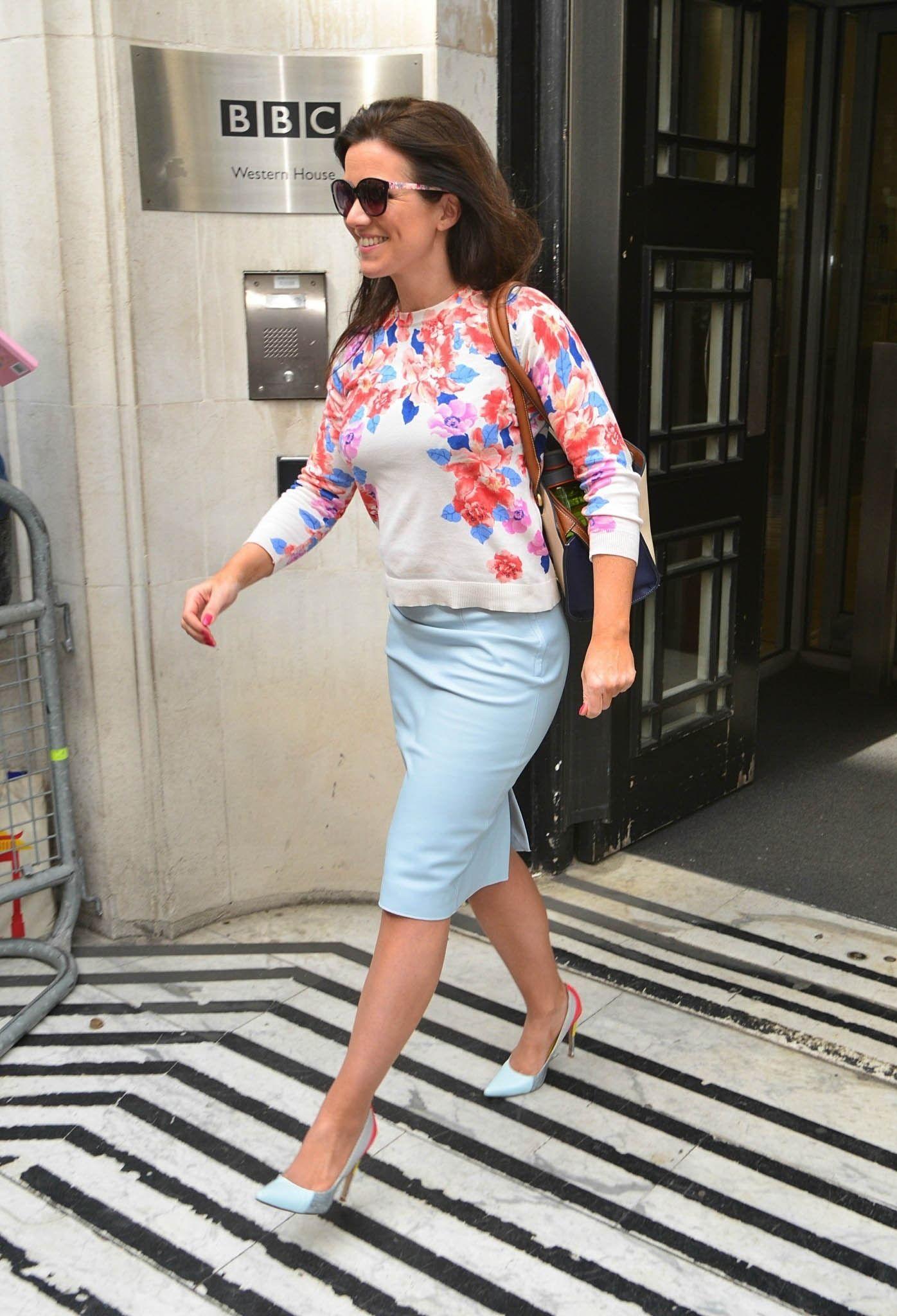 Susanna Reid at BBC Radio 2 London