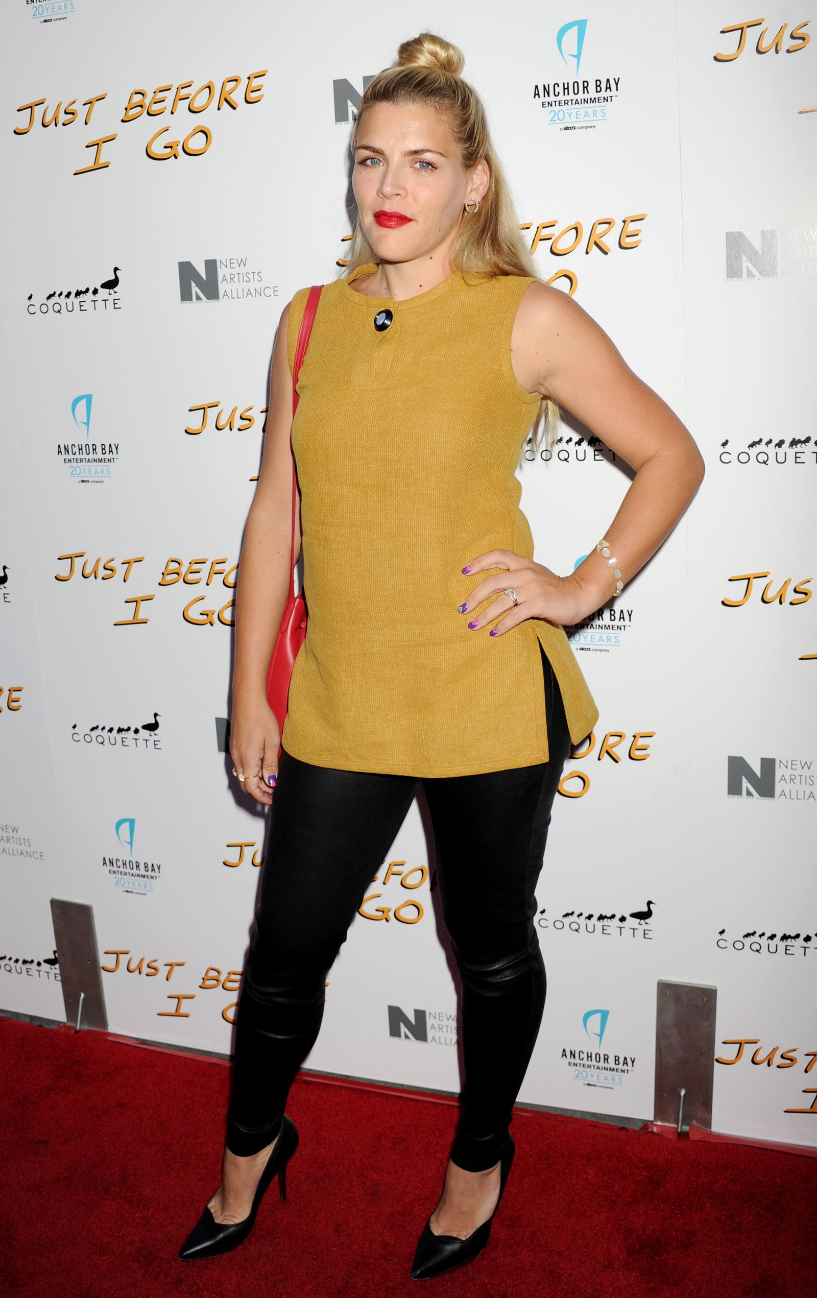 Busy Philipps attends Just Before I Go screening