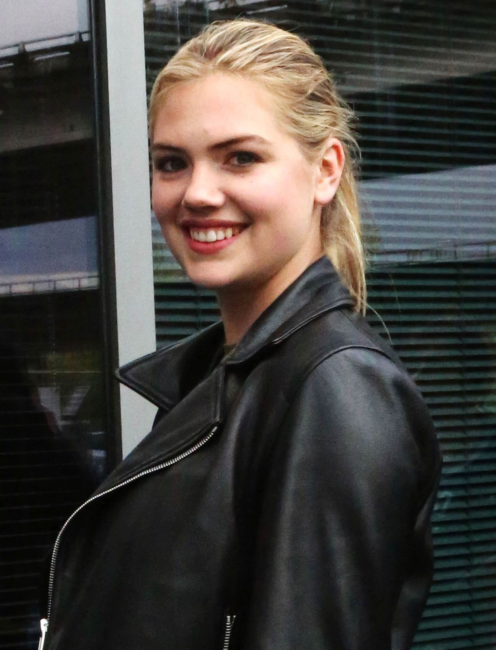 Kate Upton at Vancouver Canucks vs Calgary Flames Game