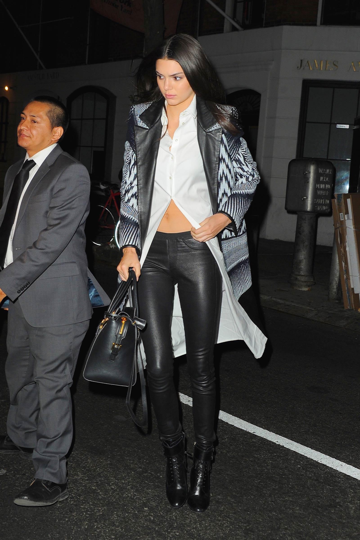 Kendall Jenner at Red Stixs Restaurant