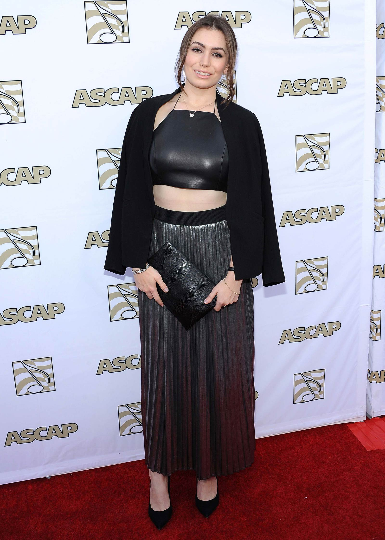Sophie Simmons attends 32nd Annual ASCAP Pop Music Awards