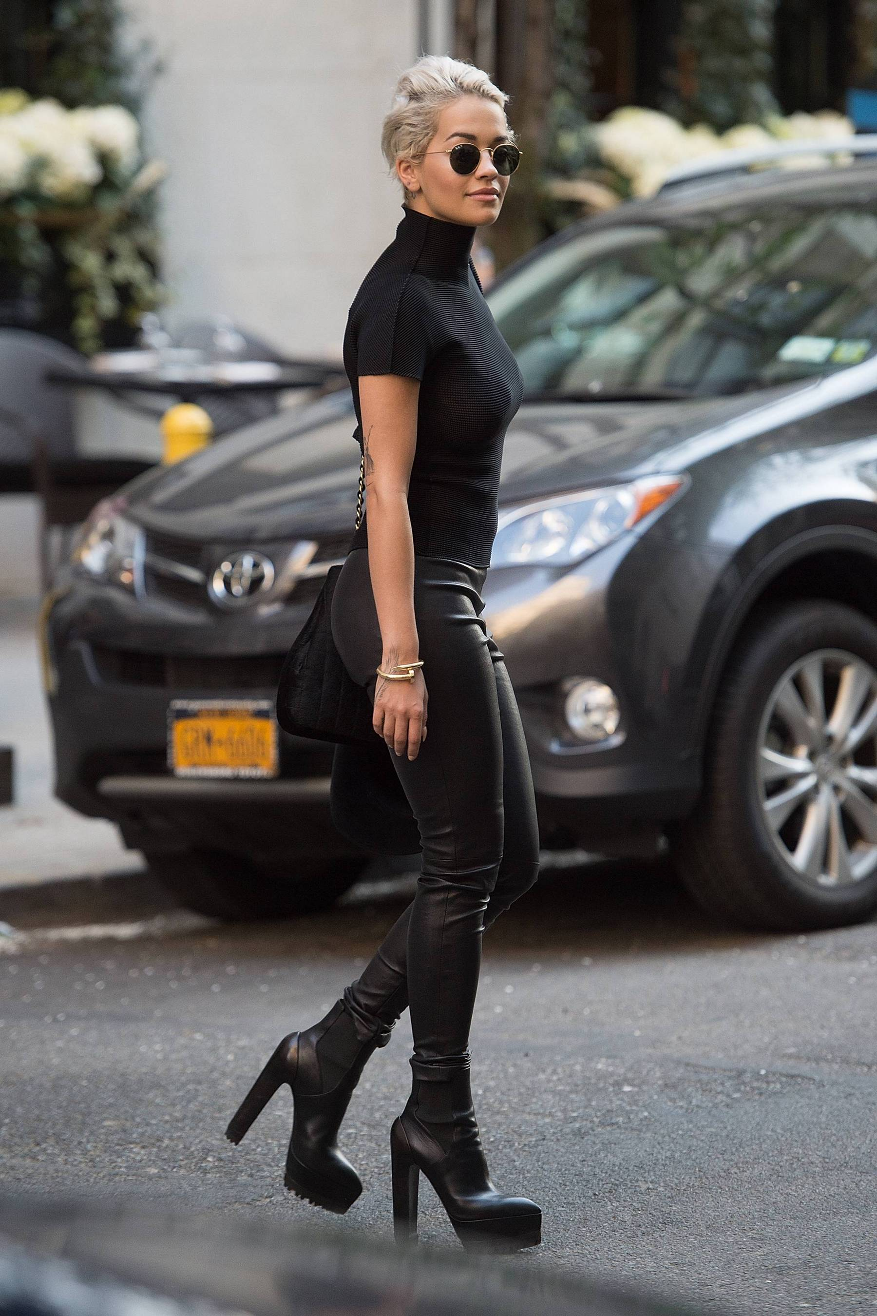 Rita Ora out and about in New York