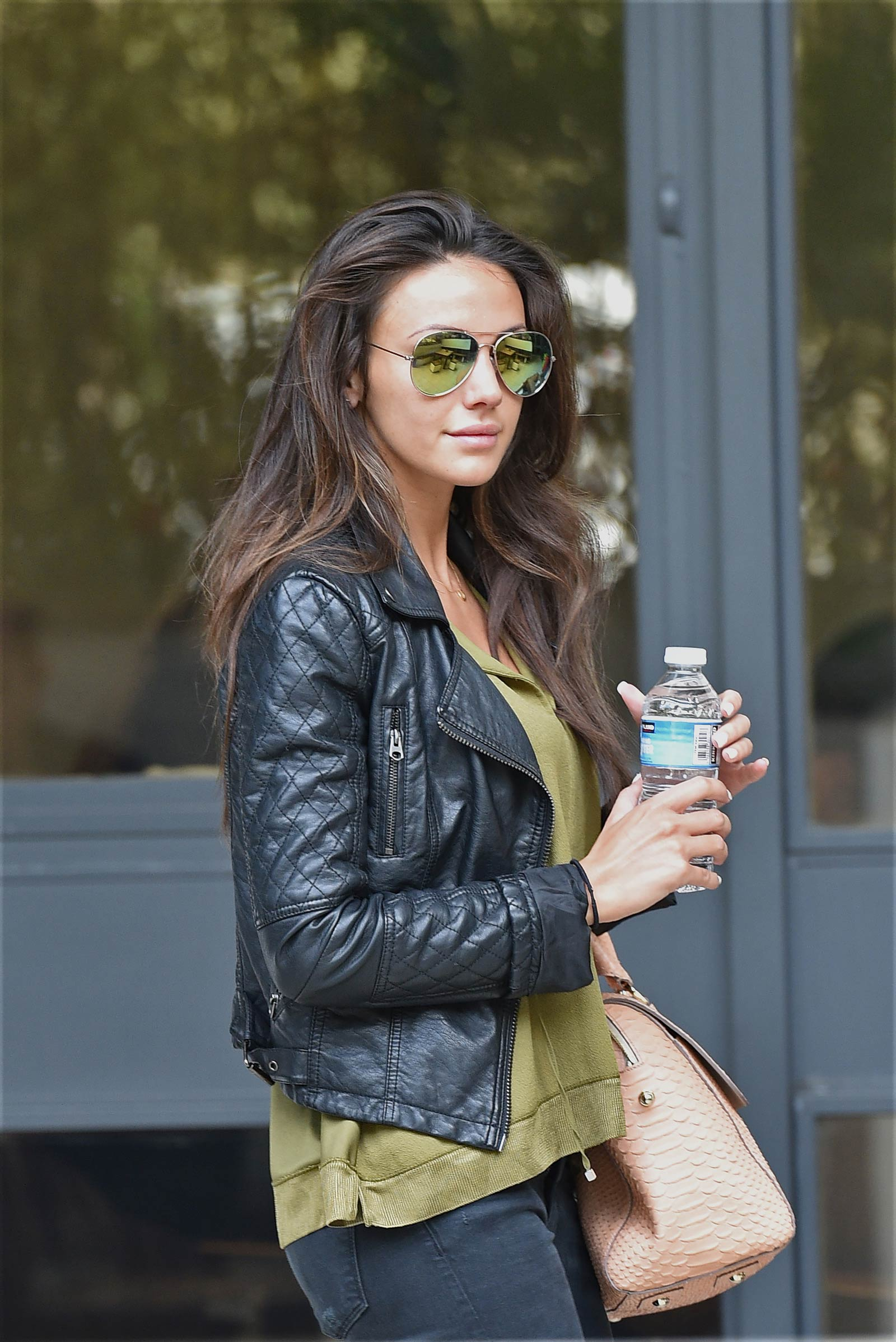 Michelle Keegan seen outside the London Studios