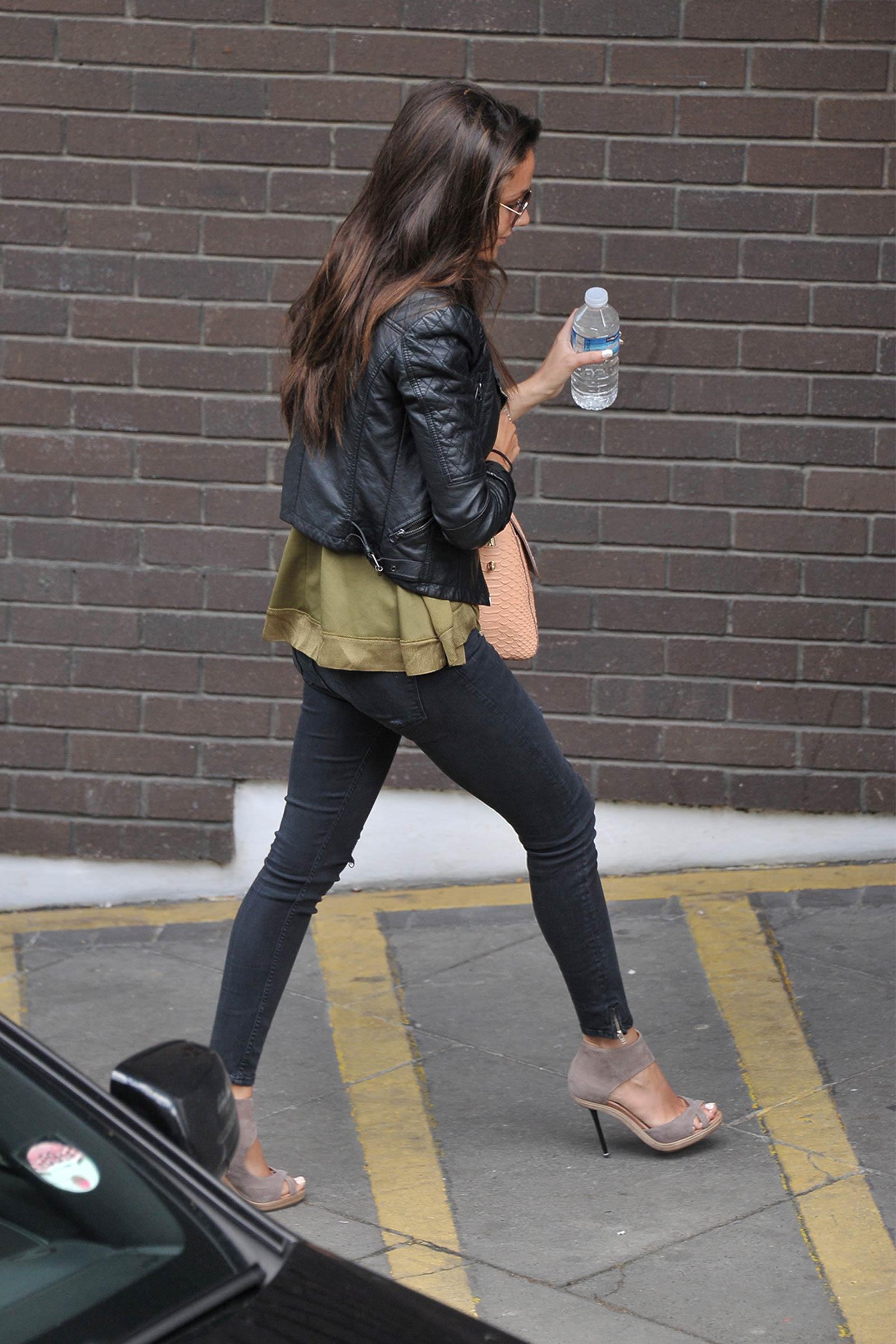 Michelle Keegan seen outside the London Studios