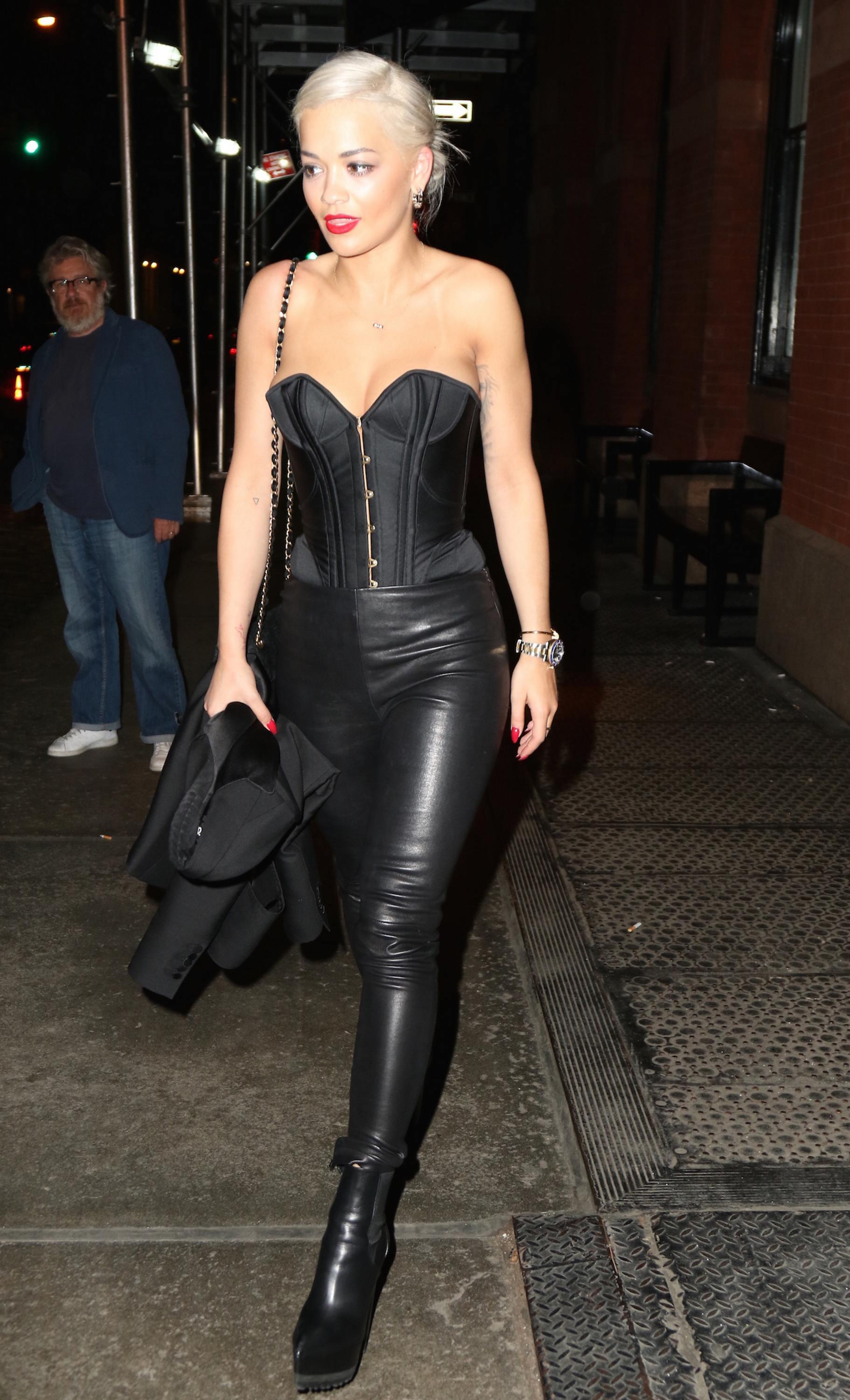 Rita Ora out in New York City