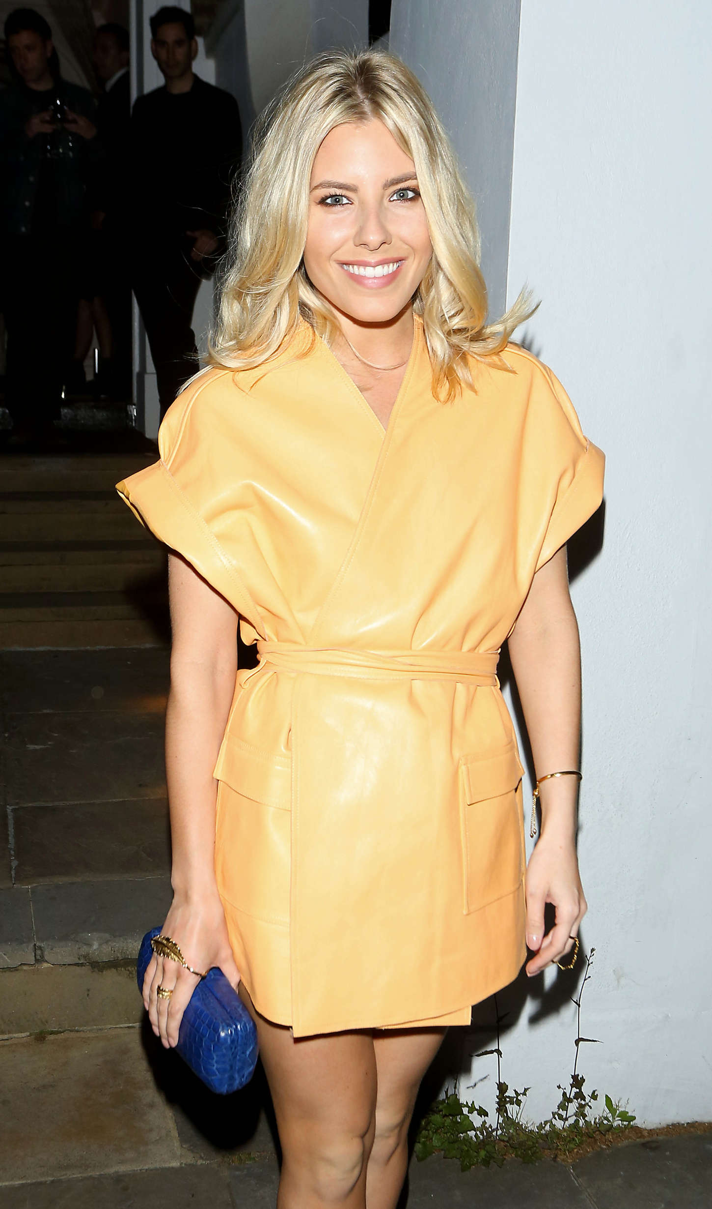 Mollie King attends Dom Perignon Party in London