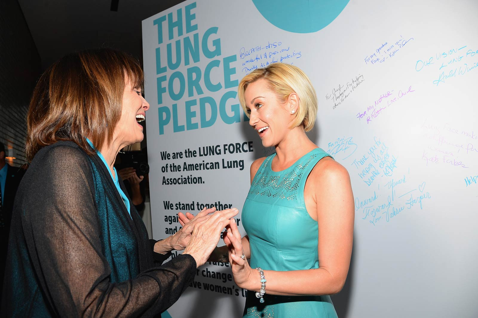 Kellie Pickler attends American Lung Association's LUNG FORCE gala