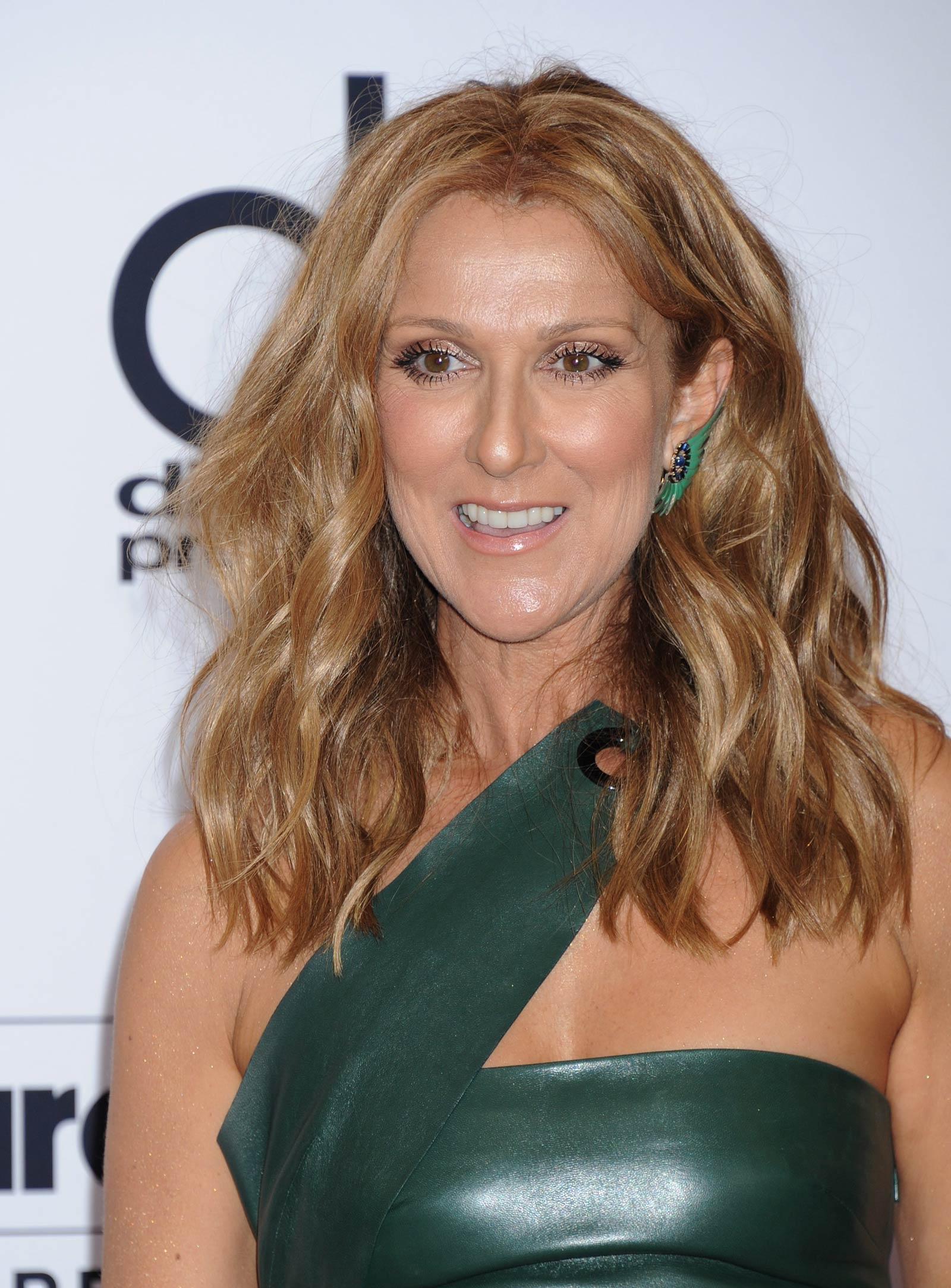 Celine Dion attends the 2015 Billboard Music Awards