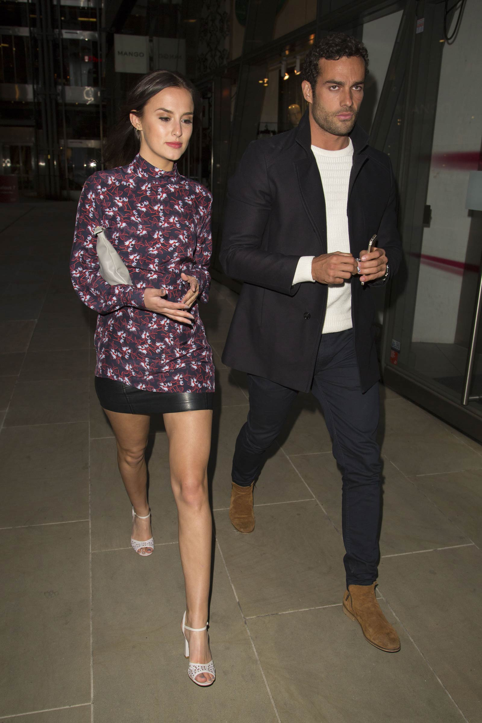 Lucy Watson attends Moet Ice Imperial Summer Party Pop Up Launch Event