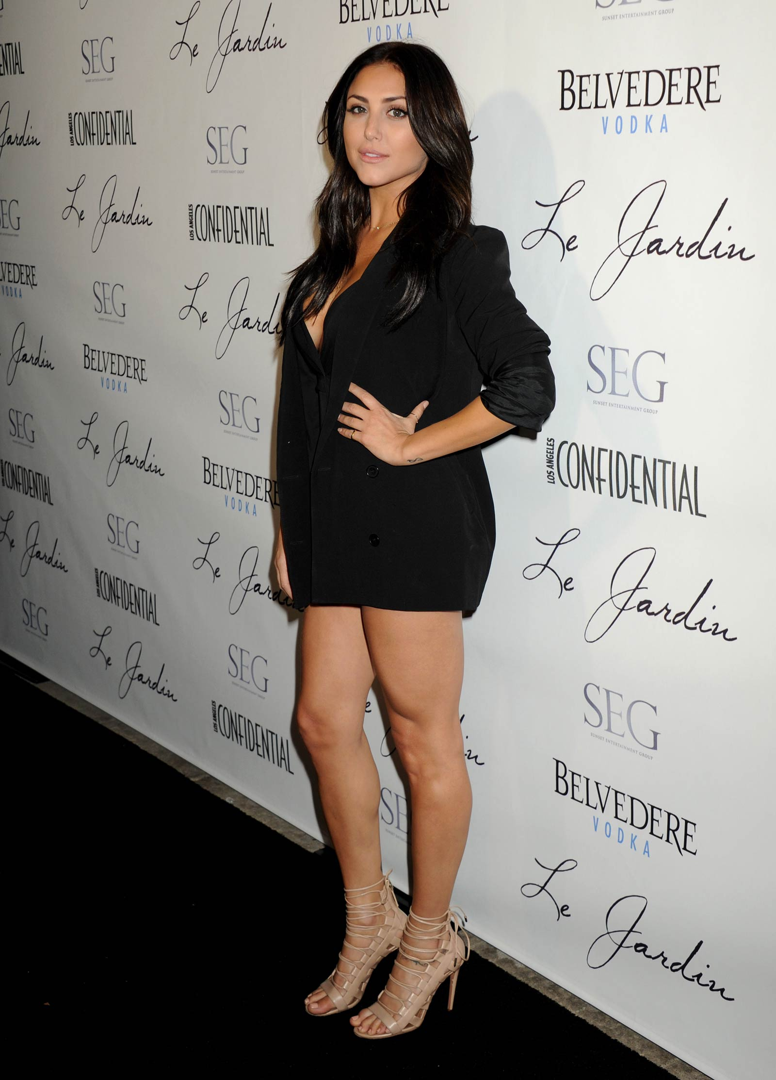 Cassie Scerbo attends Grand Opening Of Le Jardin