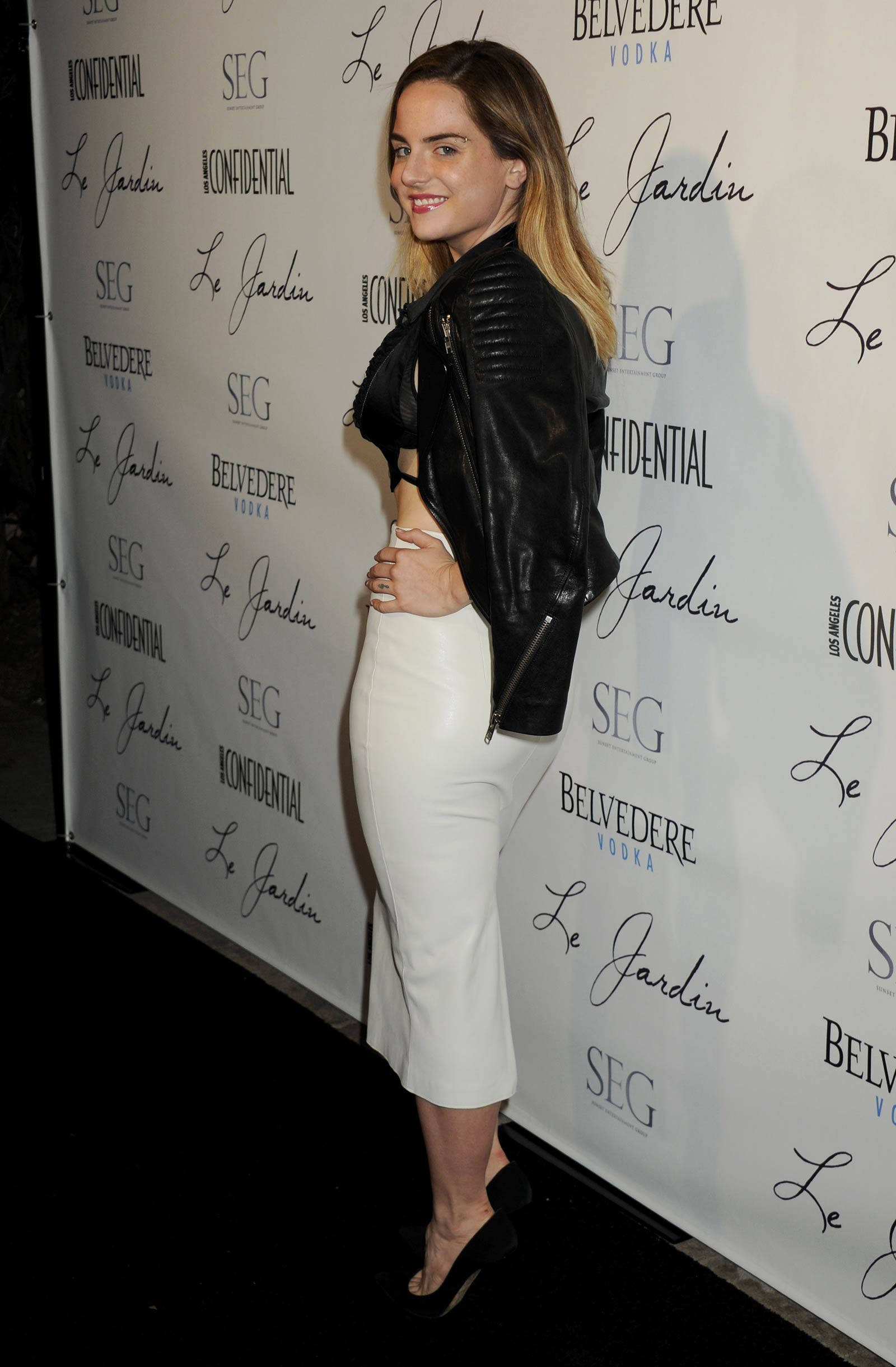 Joanna Levesque attends Grand Opening Of Le Jardin