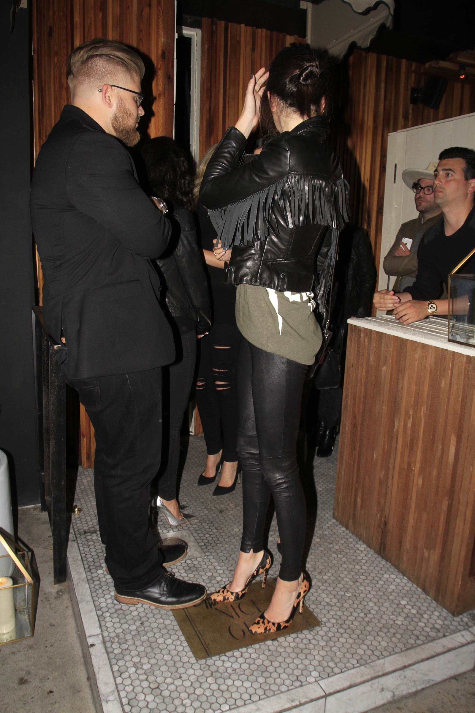 Kendall Jenner Leaving The Nice Guy