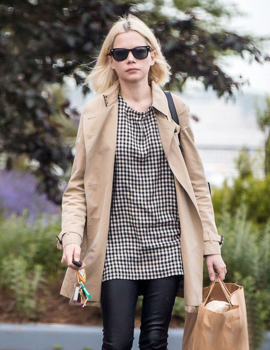 Michelle Williams stepped out in New York City