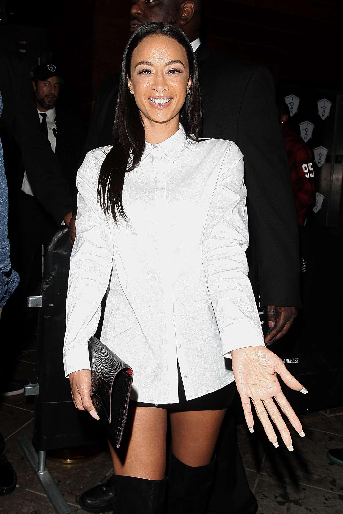 Draya Michele leaving 1Oak Nightclub in LA