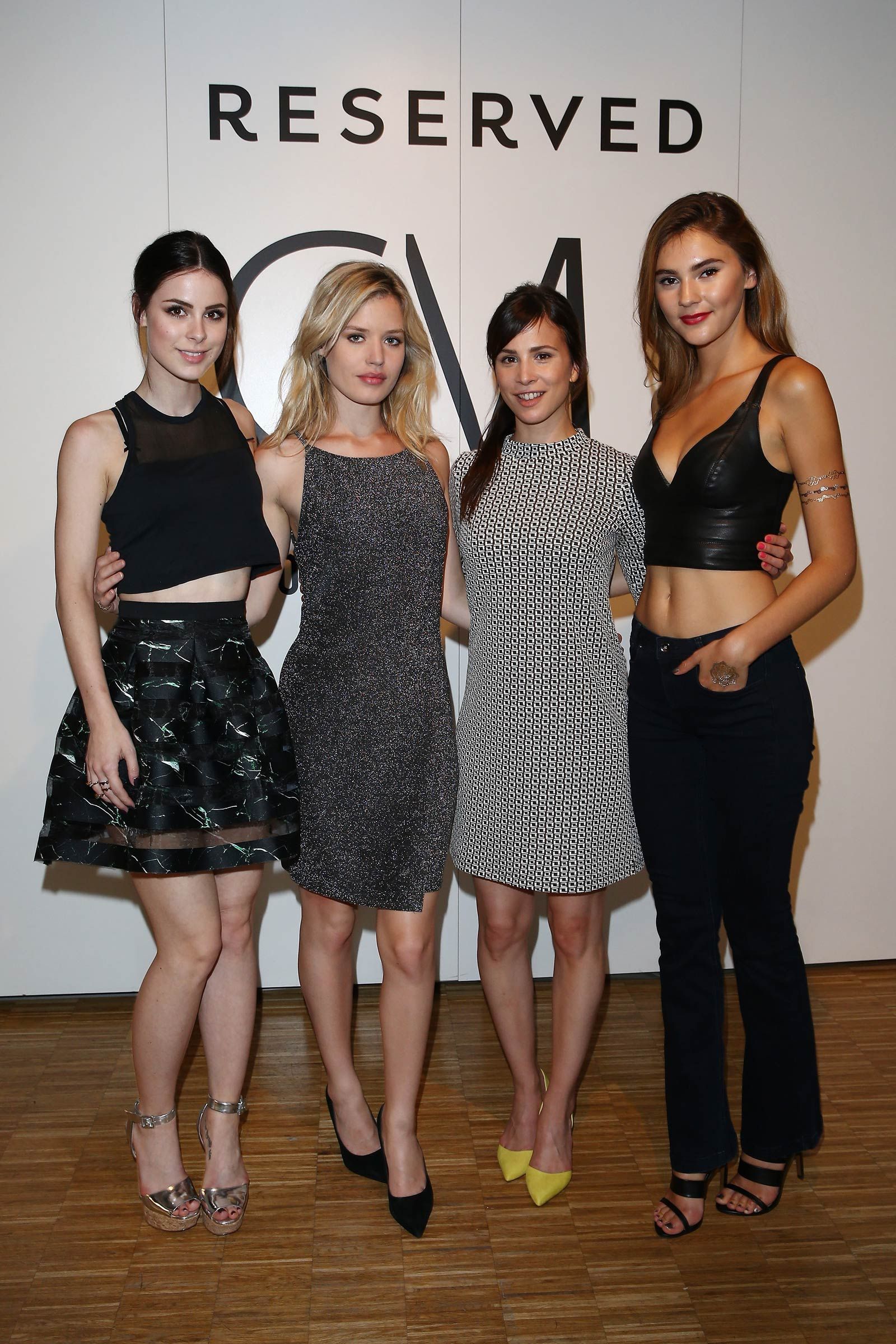 Stefanie Giesinger attends the RESERVED Collection Preview