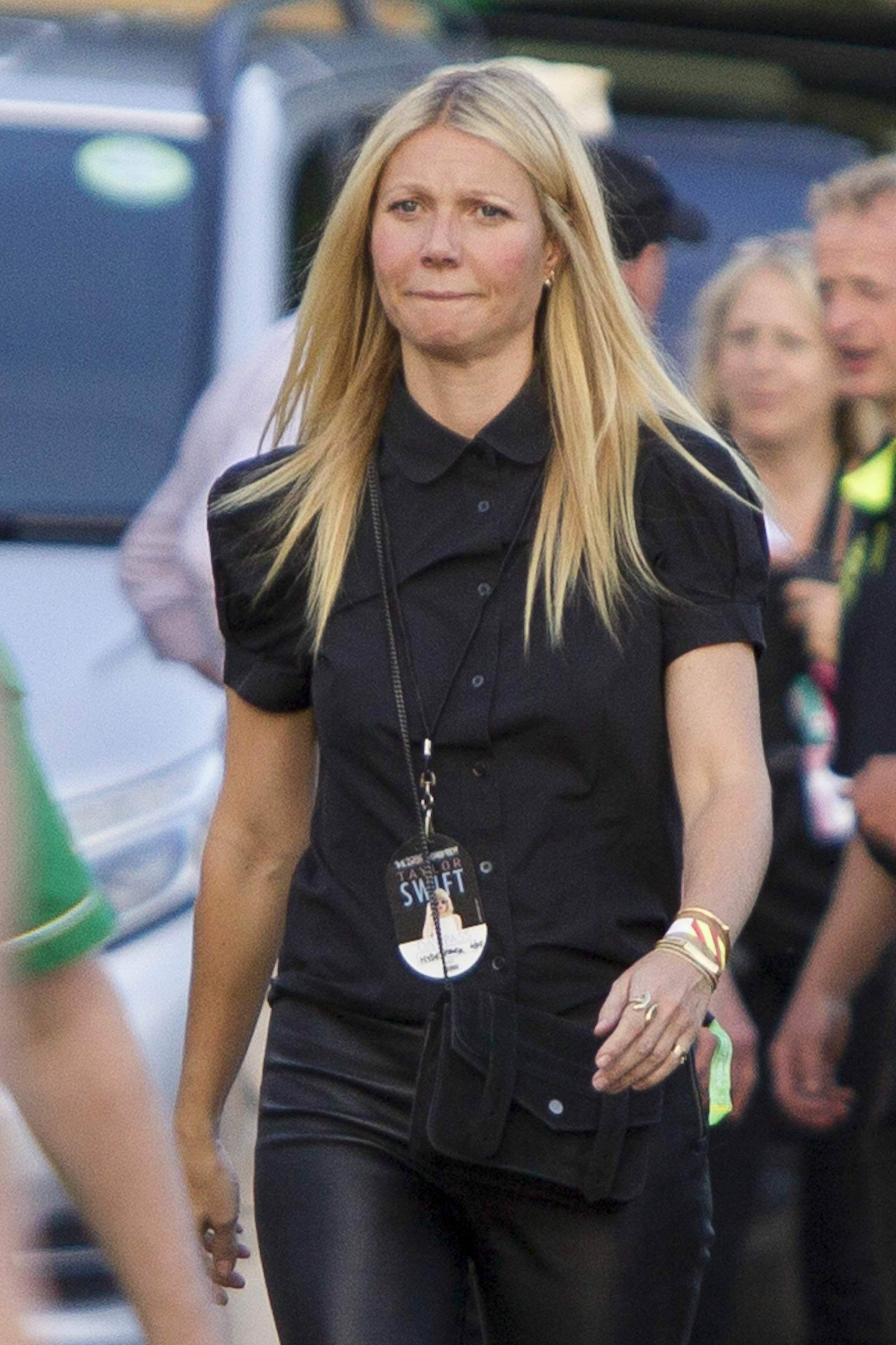 Gwyneth Paltrow at the Taylor Swift concert
