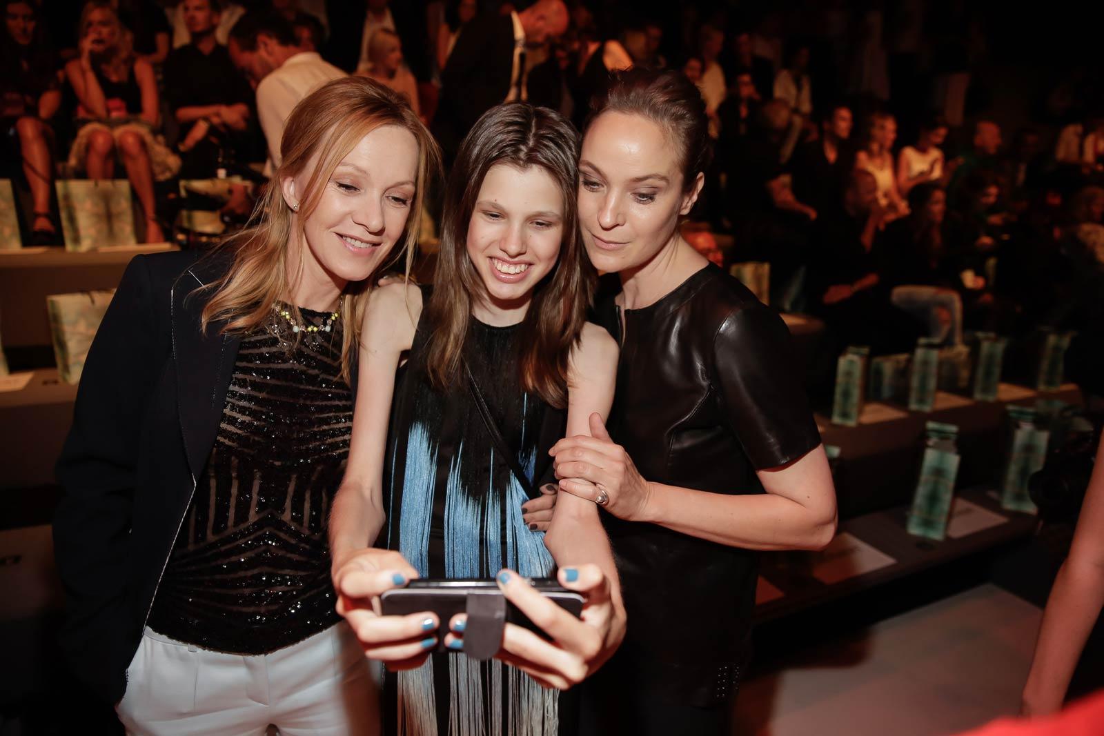 German celebs attend Mercedes-Benz Fashion Week Berlin