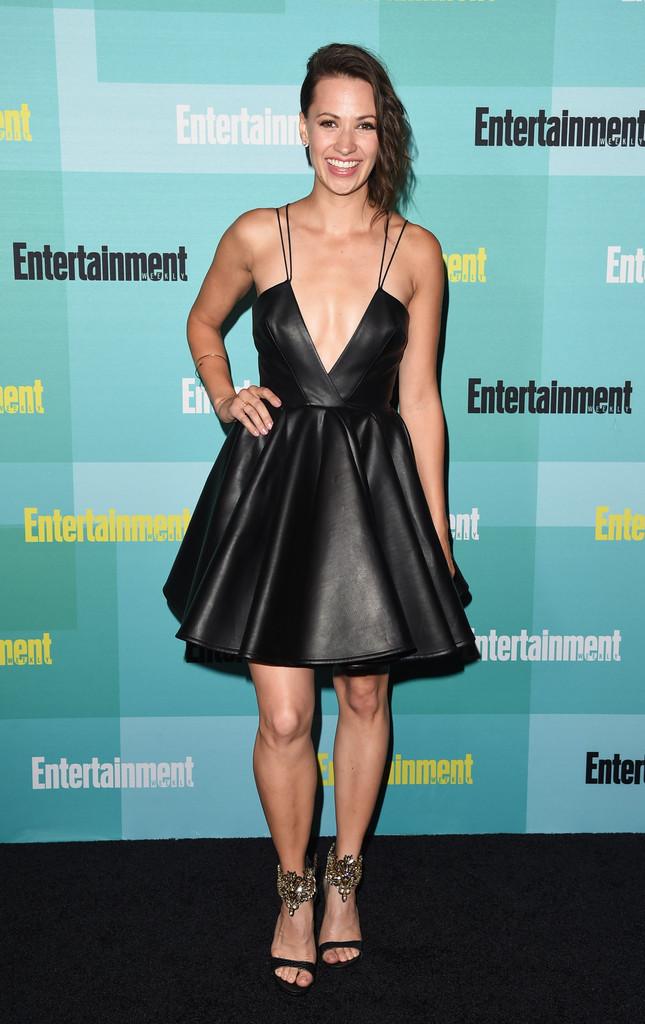 Kristen Gutoskie attends Entertainment Weekly's Comic-Con 2015