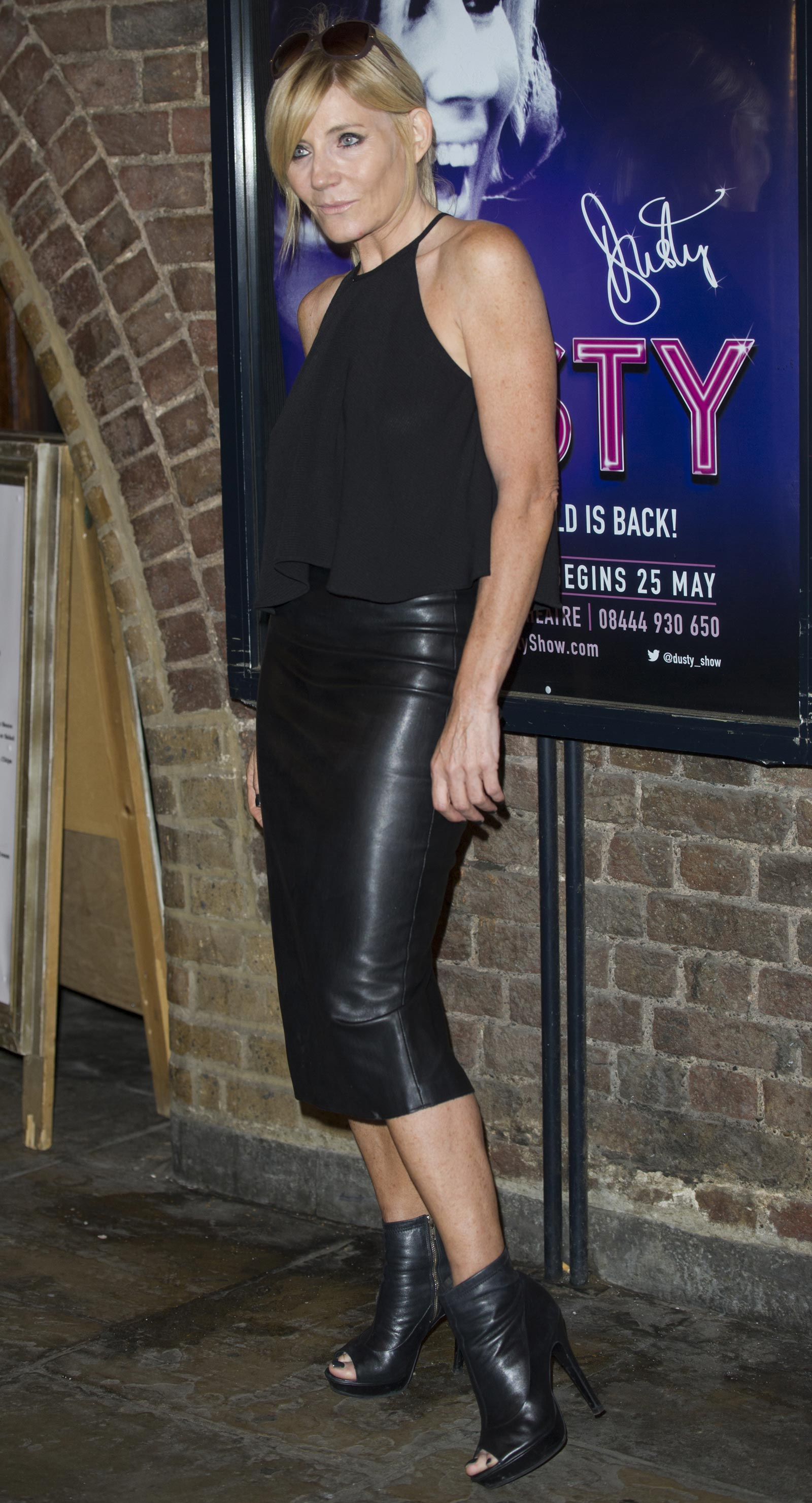 Michelle Collins attends Dusty Gala night