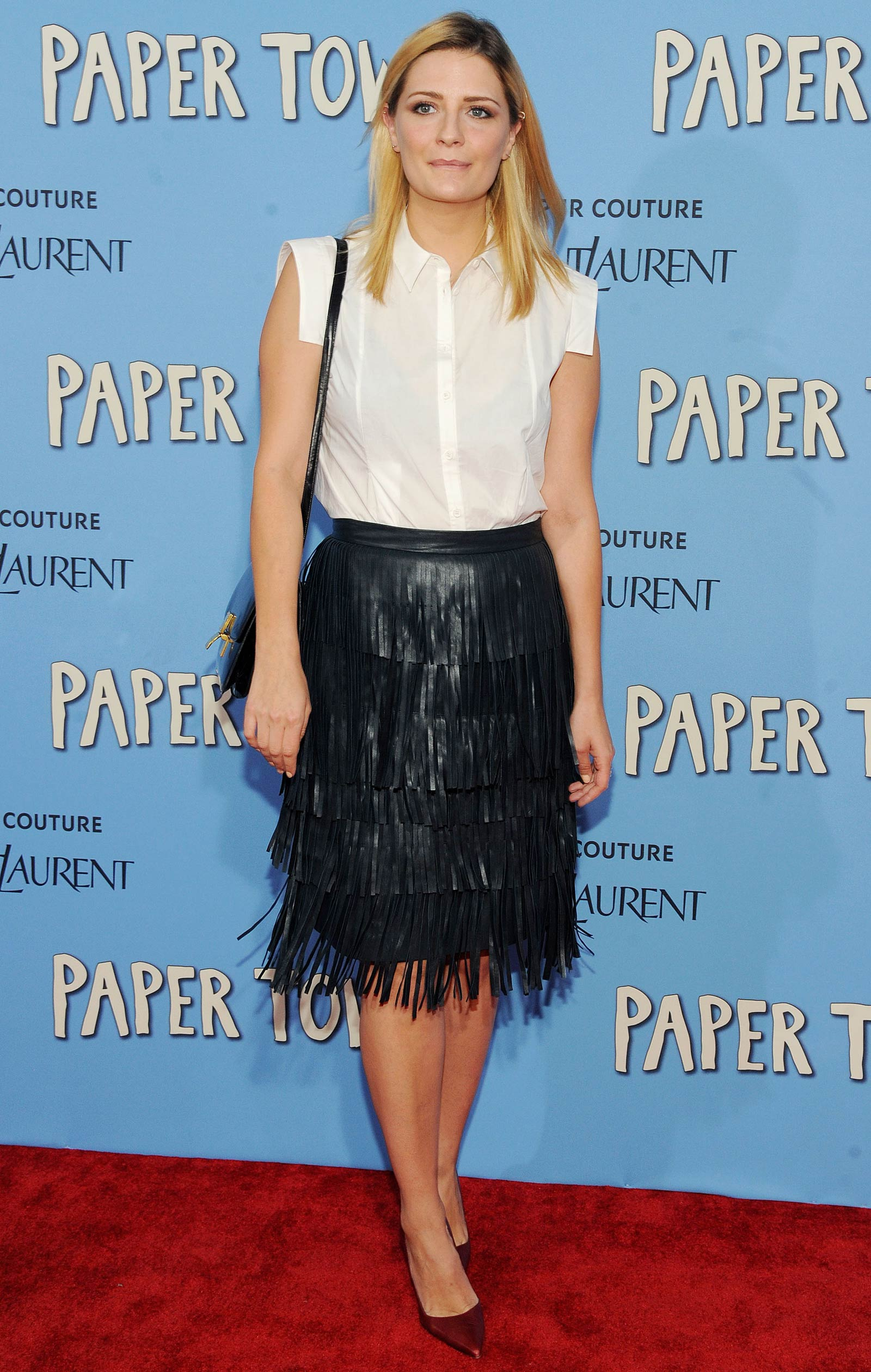 Mischa Barton attends Paper Towns New York Premiere
