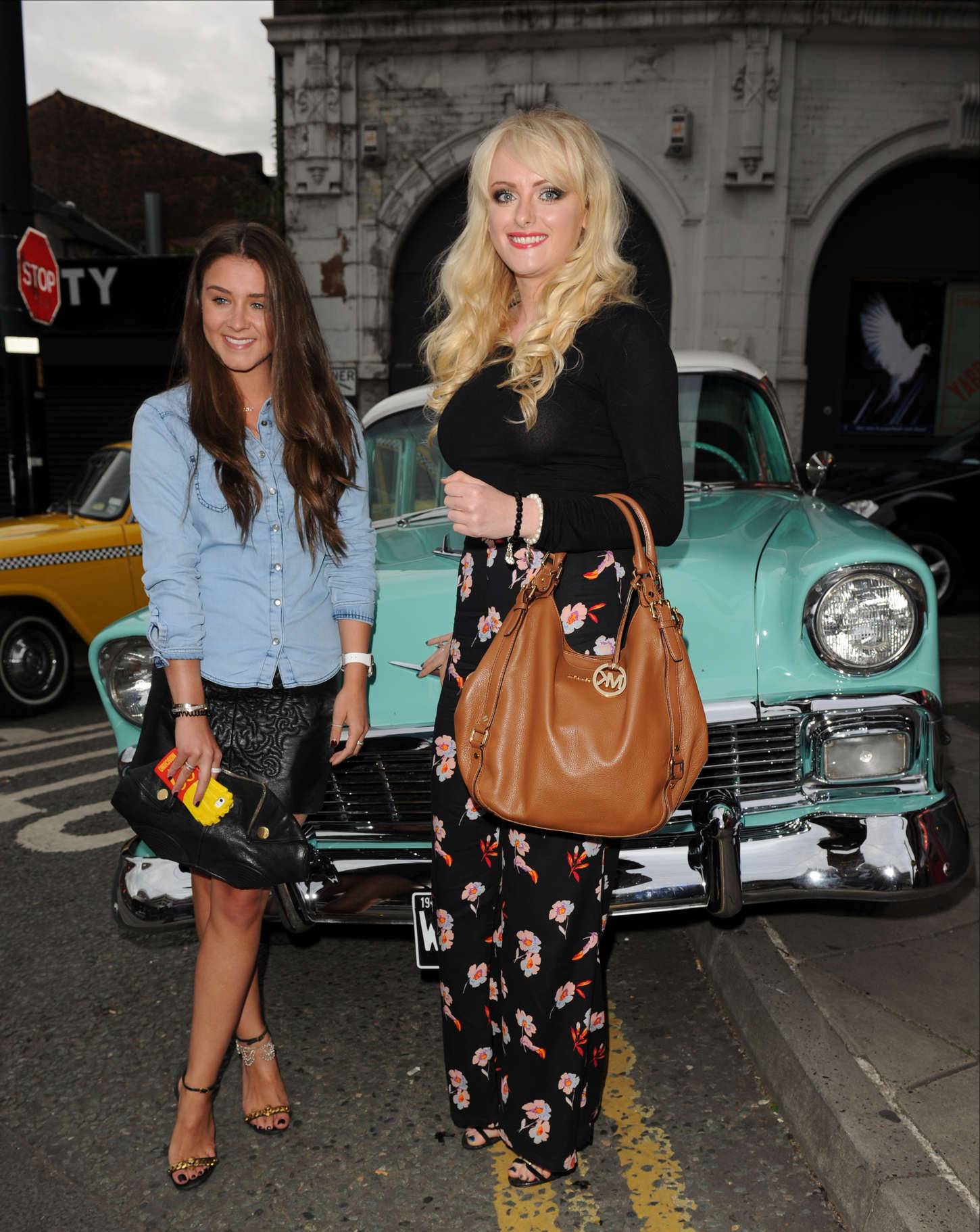 Brooke Vincent at The Infamous Diner Opening