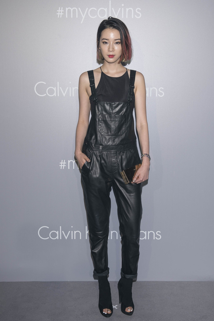 Kendall Jenner, Helena Bordon & Yoon attends the Calvin Klein Jeans music event