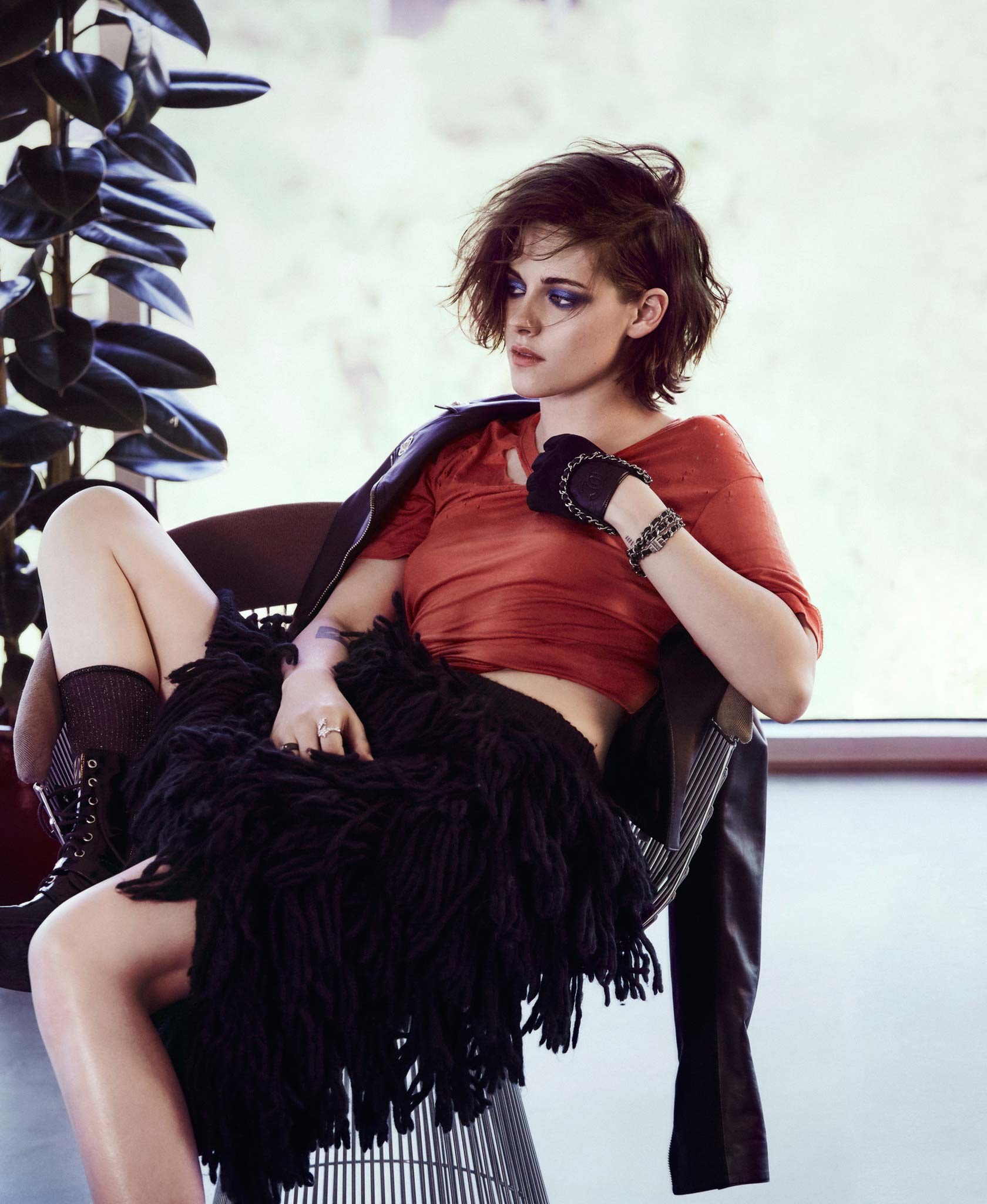Kristen Stewart photoshoot for Nylon Magazine