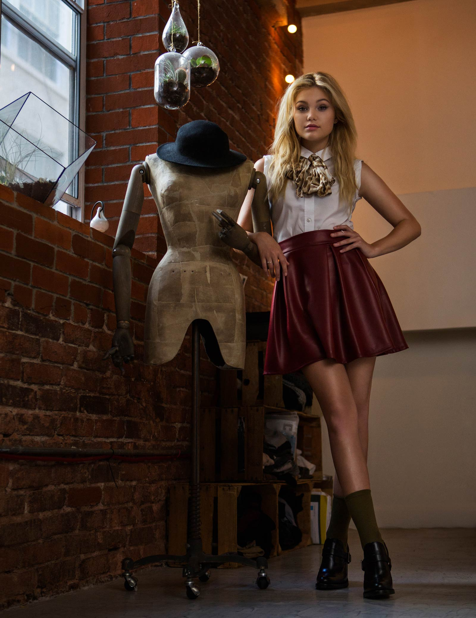 Olivia Holt in Cliche Magazine