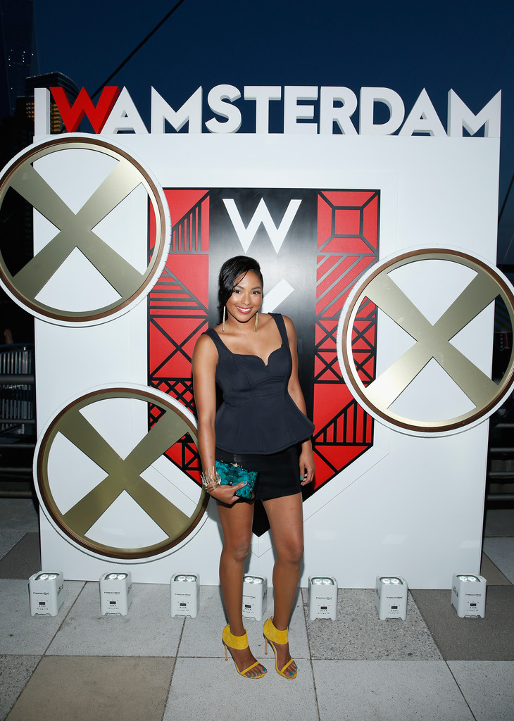 Alicia Quarles attends All Aboard! as W Hotels toasts the upcoming opening of W Amsterdam