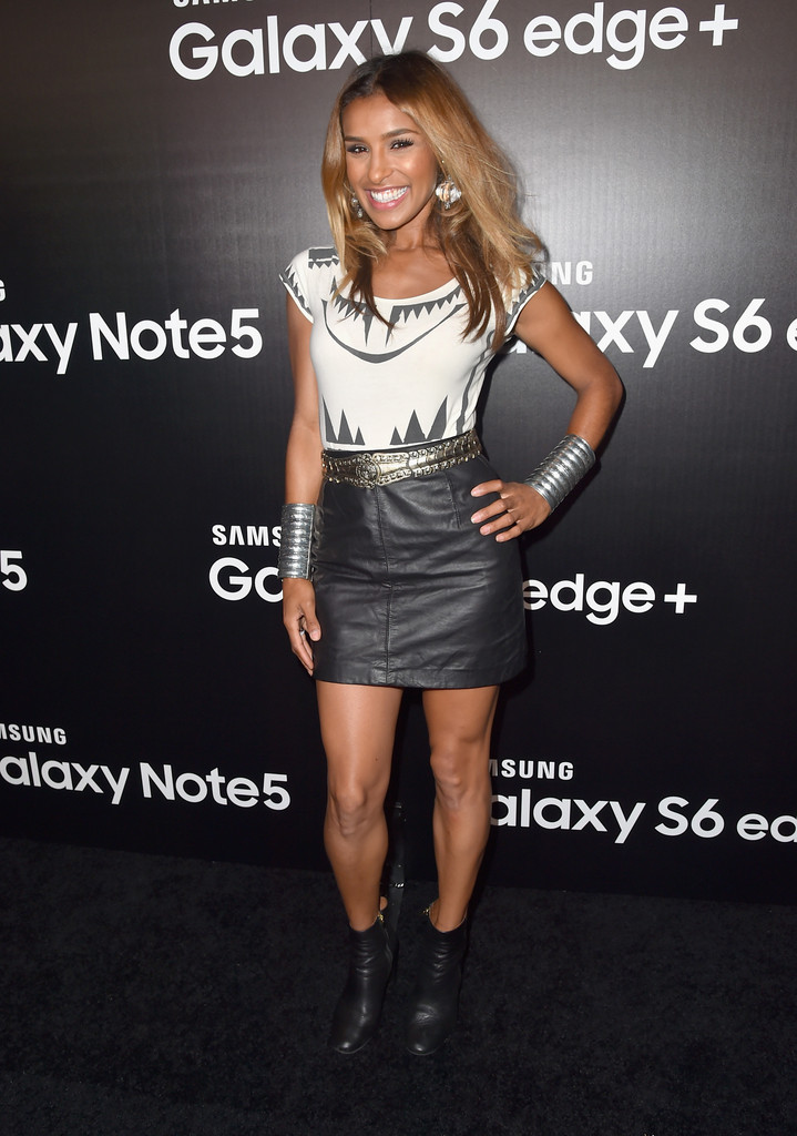Melody Thornton attends the Samsung Galaxy S6 Edge Plus and Note 5 Launch party