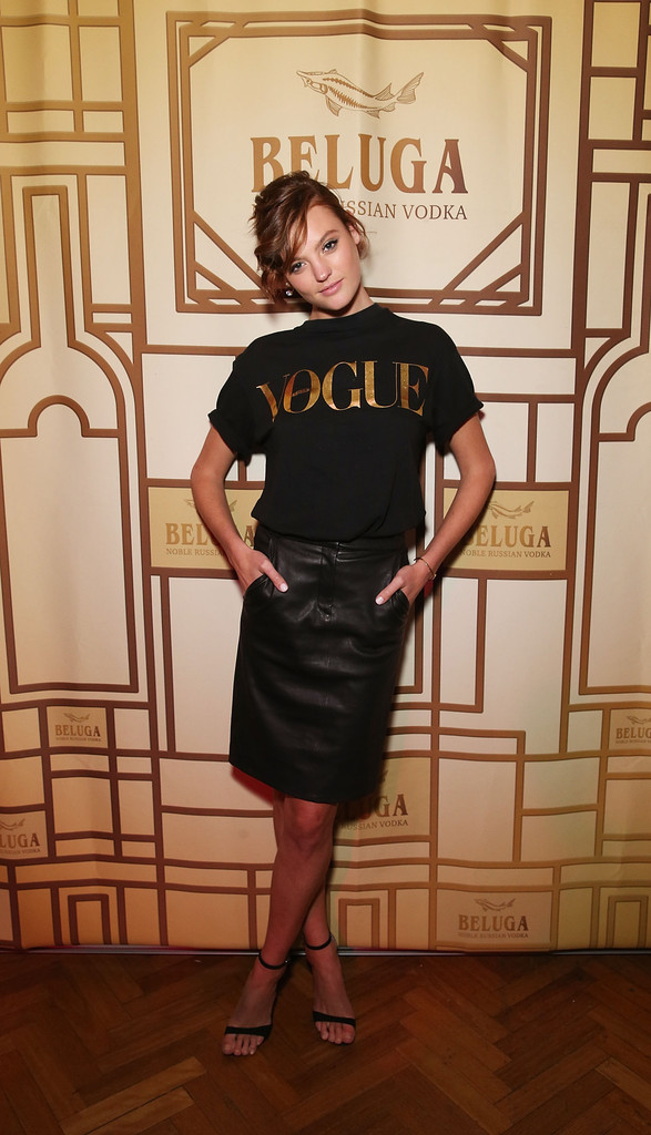 Montana Cox, Jessica Gomes, Eleanor Pendleton, Alli Simpson attend Vogue Fashion's Night Out