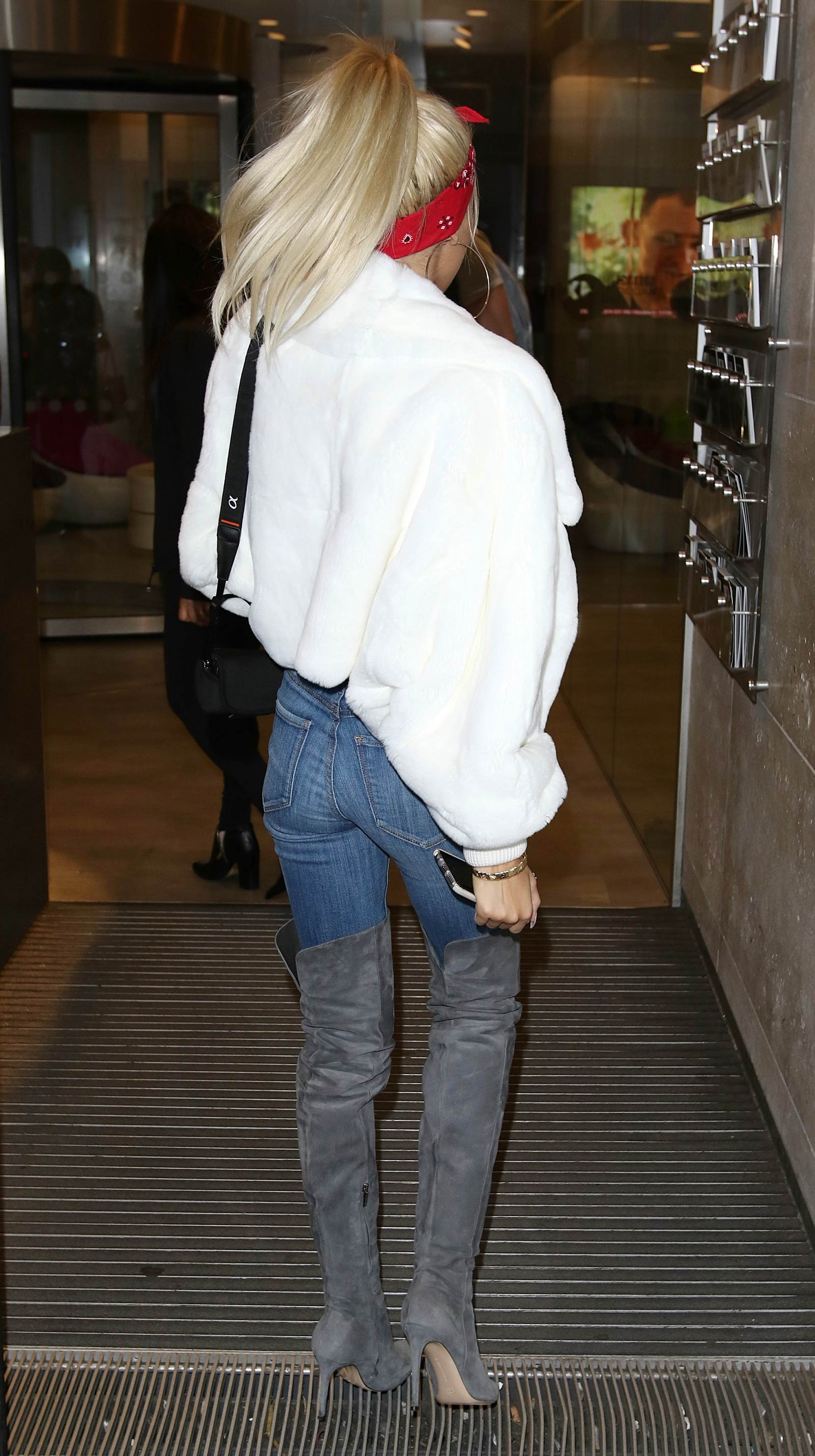 Pia Mia Perez at BBC Radio 1 in London